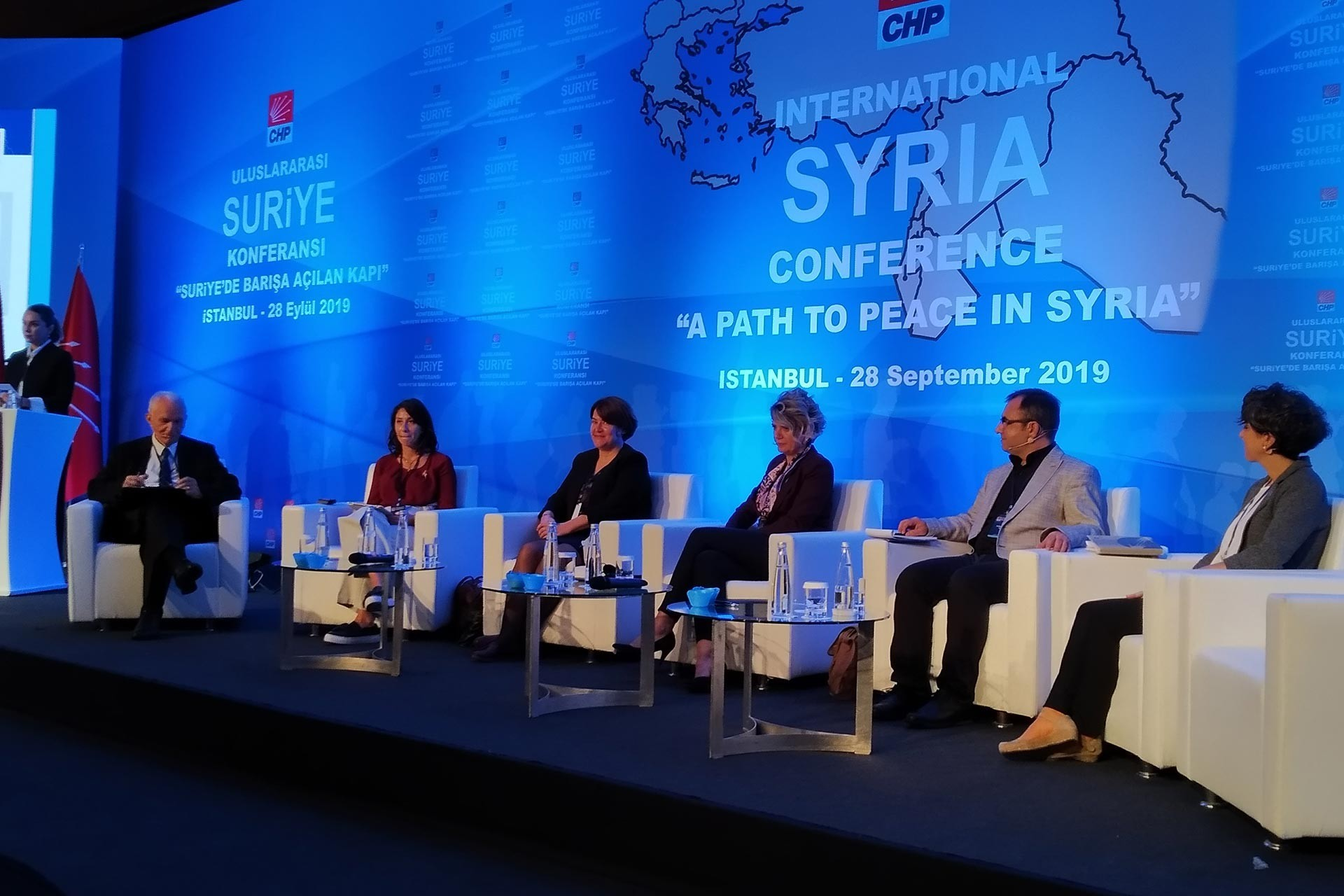 """The """"secure region"""" test of CHP's Syria policy"""