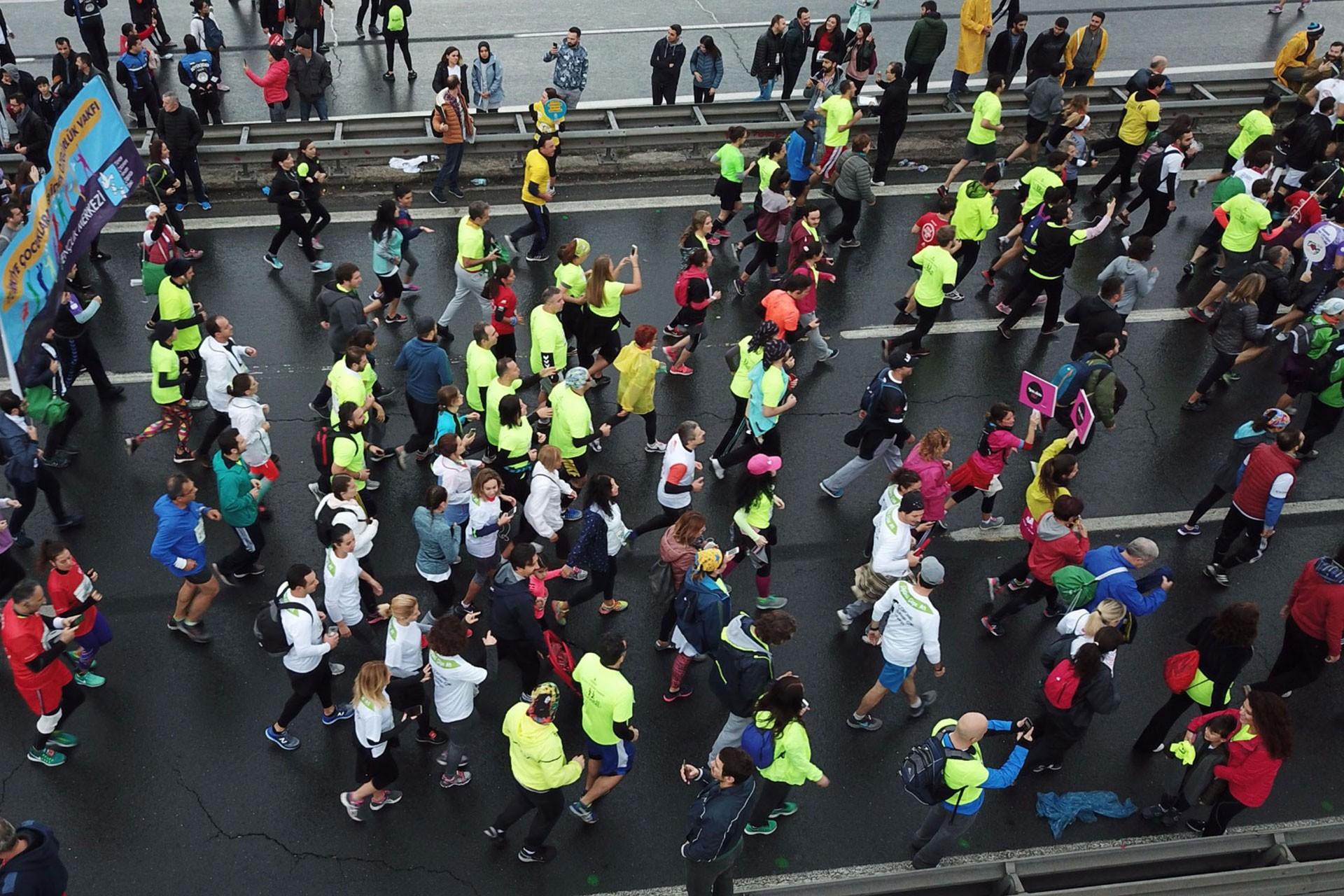 TGS, İstanbul Maratonu'nda tutuklu gazeteciler için koşacak