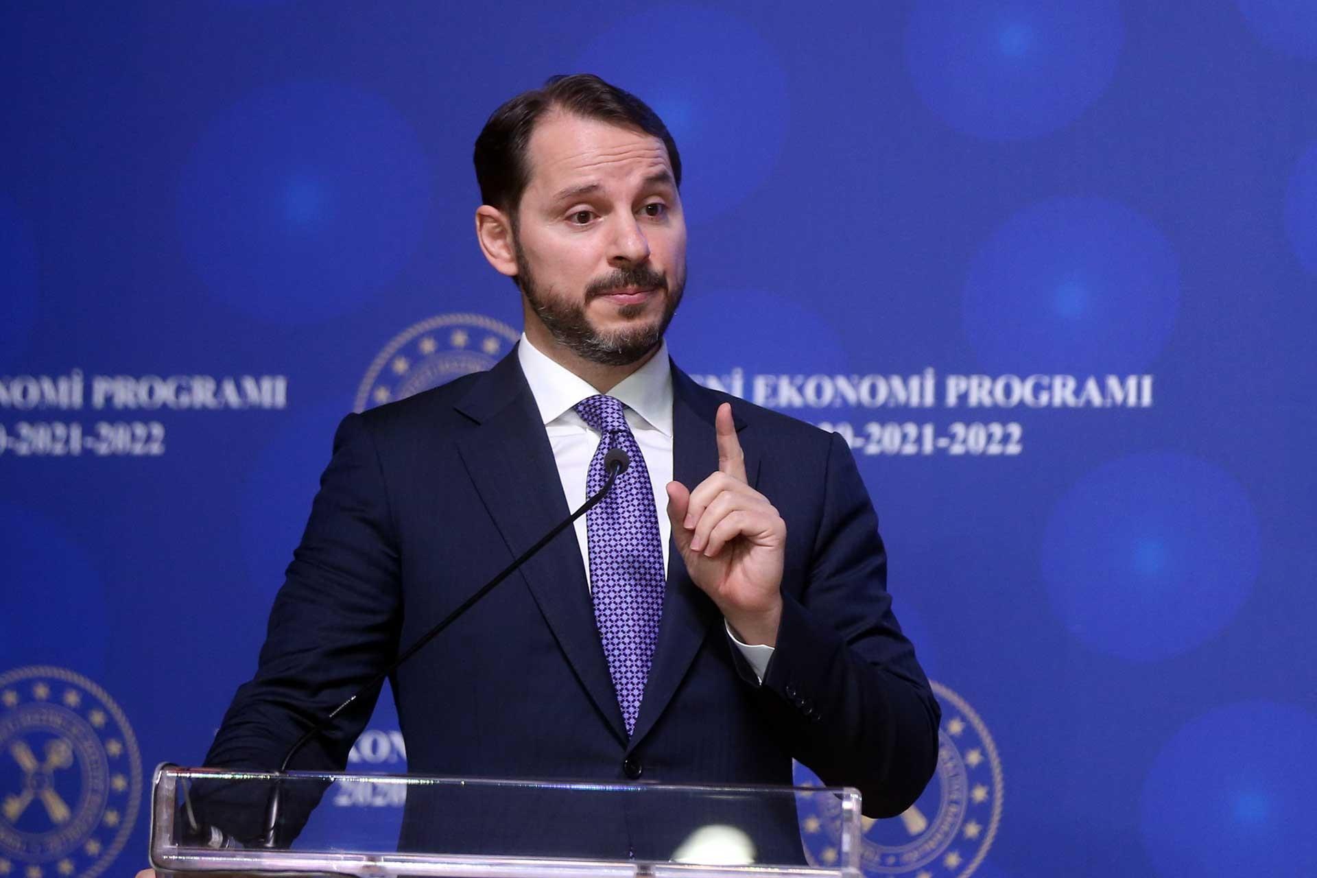 Berat Albayrak Yeni Ekonomi Programı'nı açıkladı: 2021 işsizlik tahmini yüzde10,6
