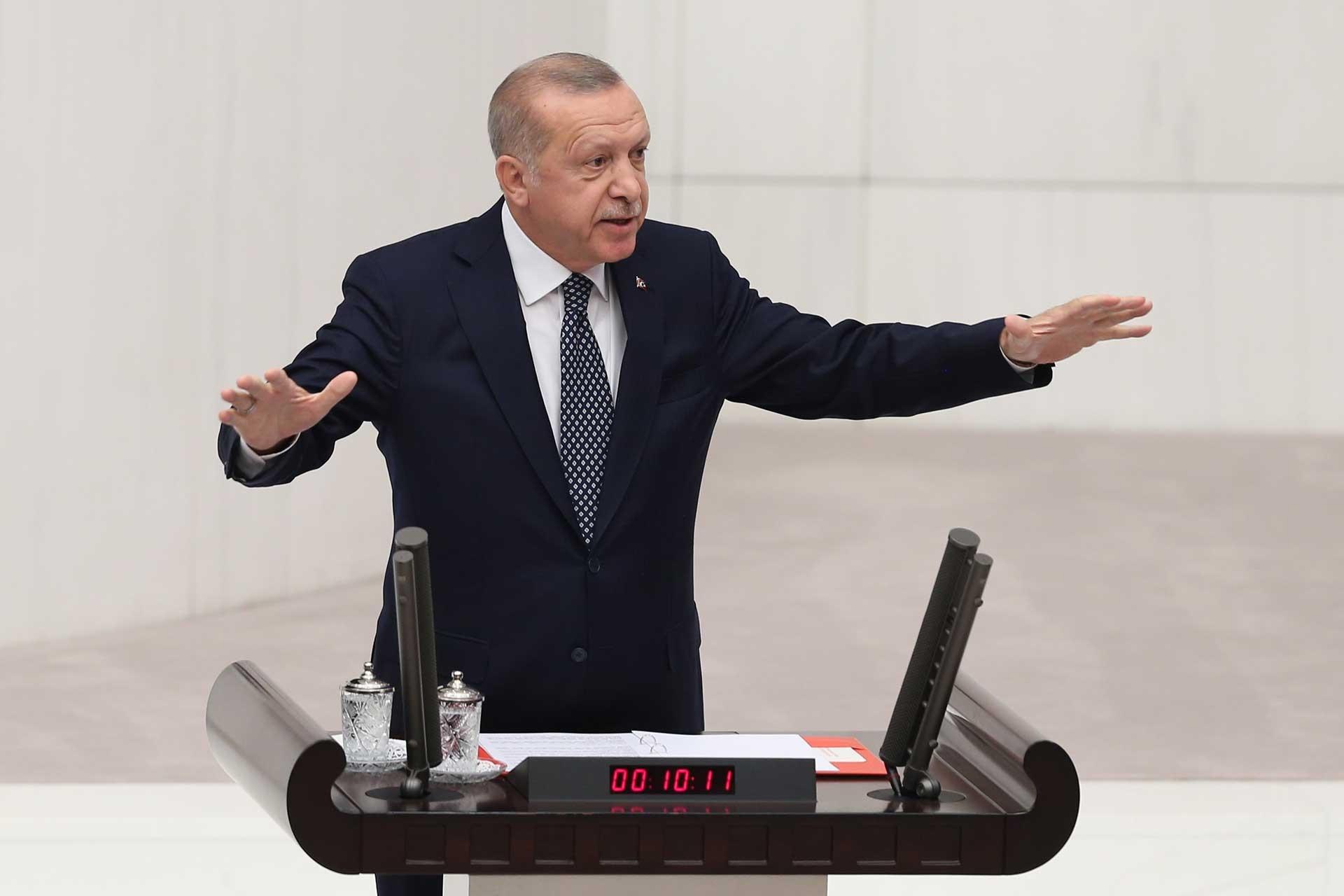 Erdoğan: Fırat'ın doğusunda amacımıza ulaşamadık kendi yolumuza devam edeceğiz