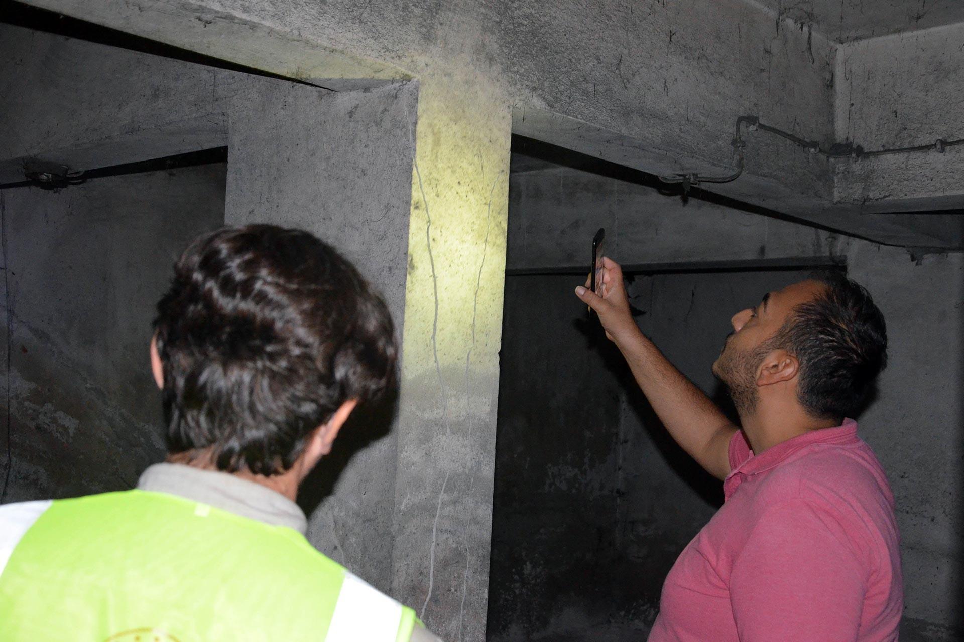 Avcılar'da bina kontrolü için başvuranların sayısı 2 bin 30'u buldu