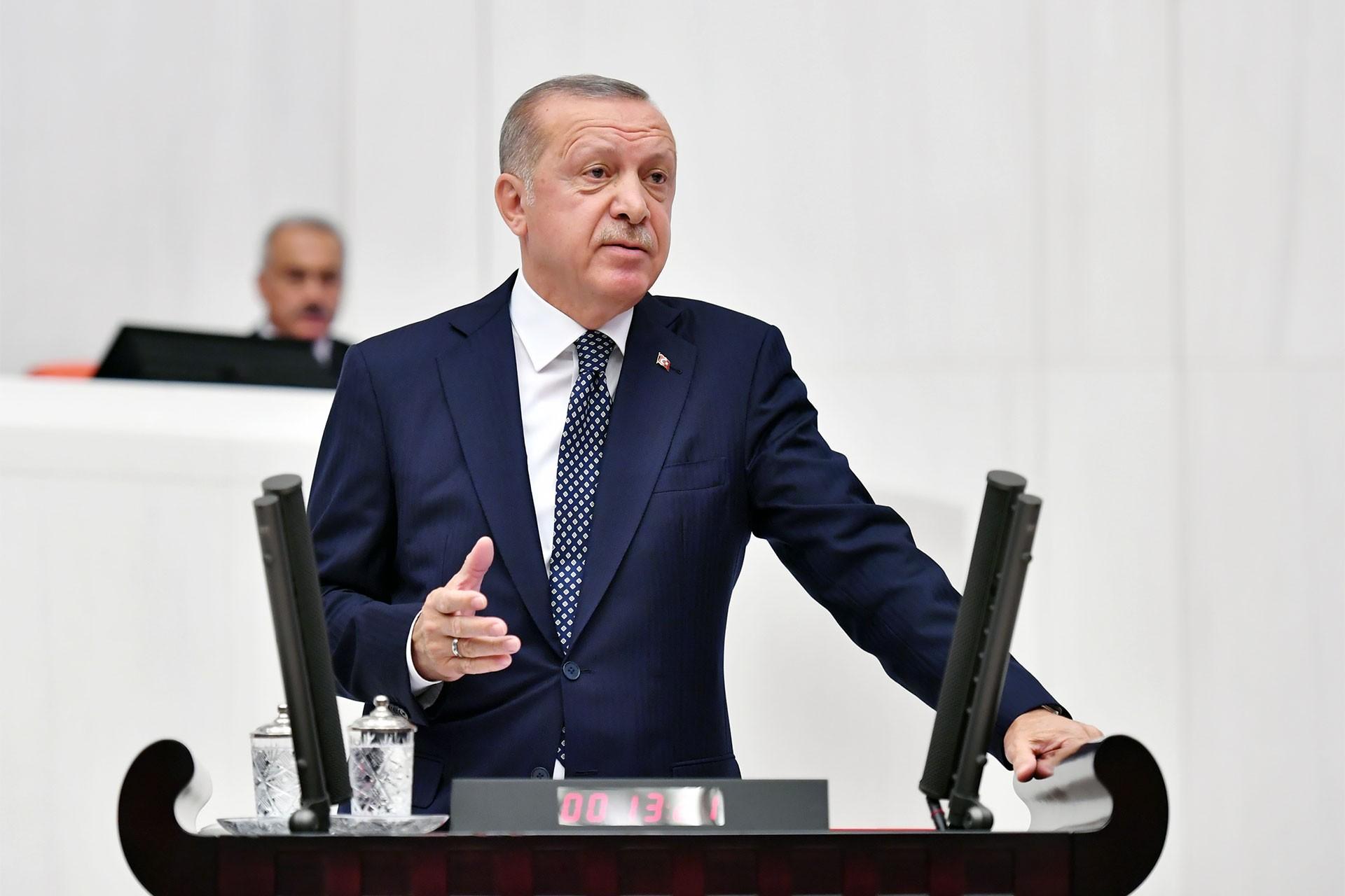 Erdoğan'dan 'yüzde 40+1' açıklaması: Meclise gelirse tartışırız