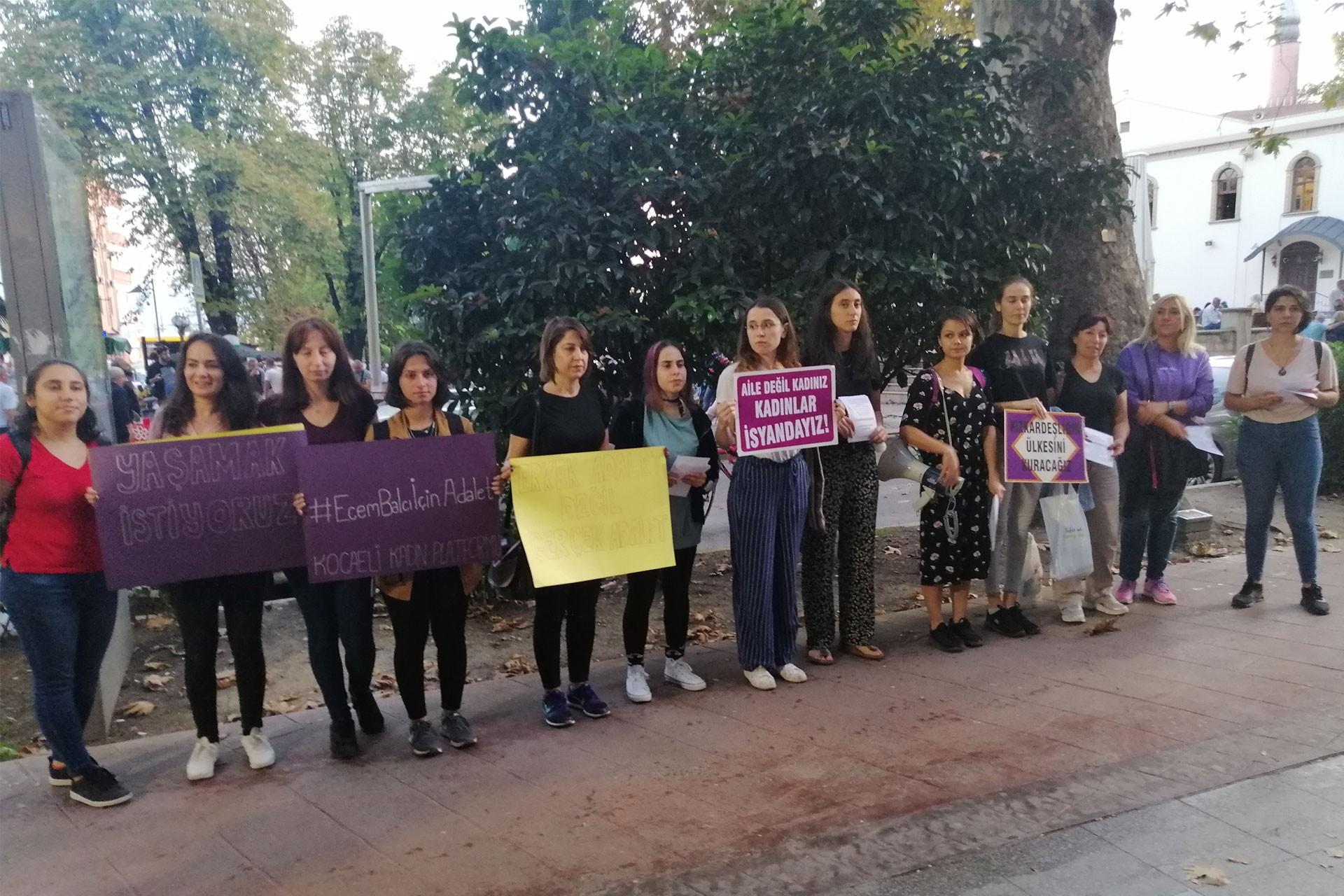 Kocaeli Kadın Platformu, Ecem Balcı davası öncesi duruşmaya çağrı yaptı