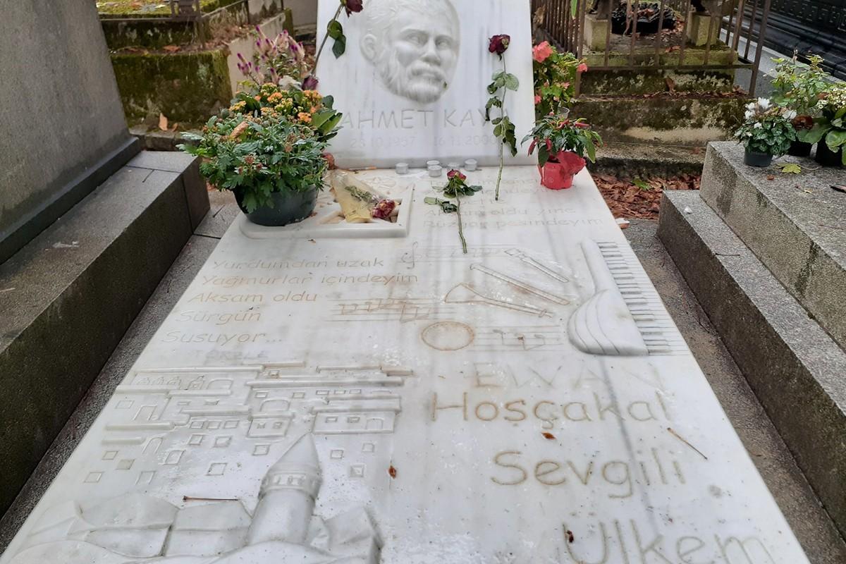 Ahmet Kaya'nın mezarı