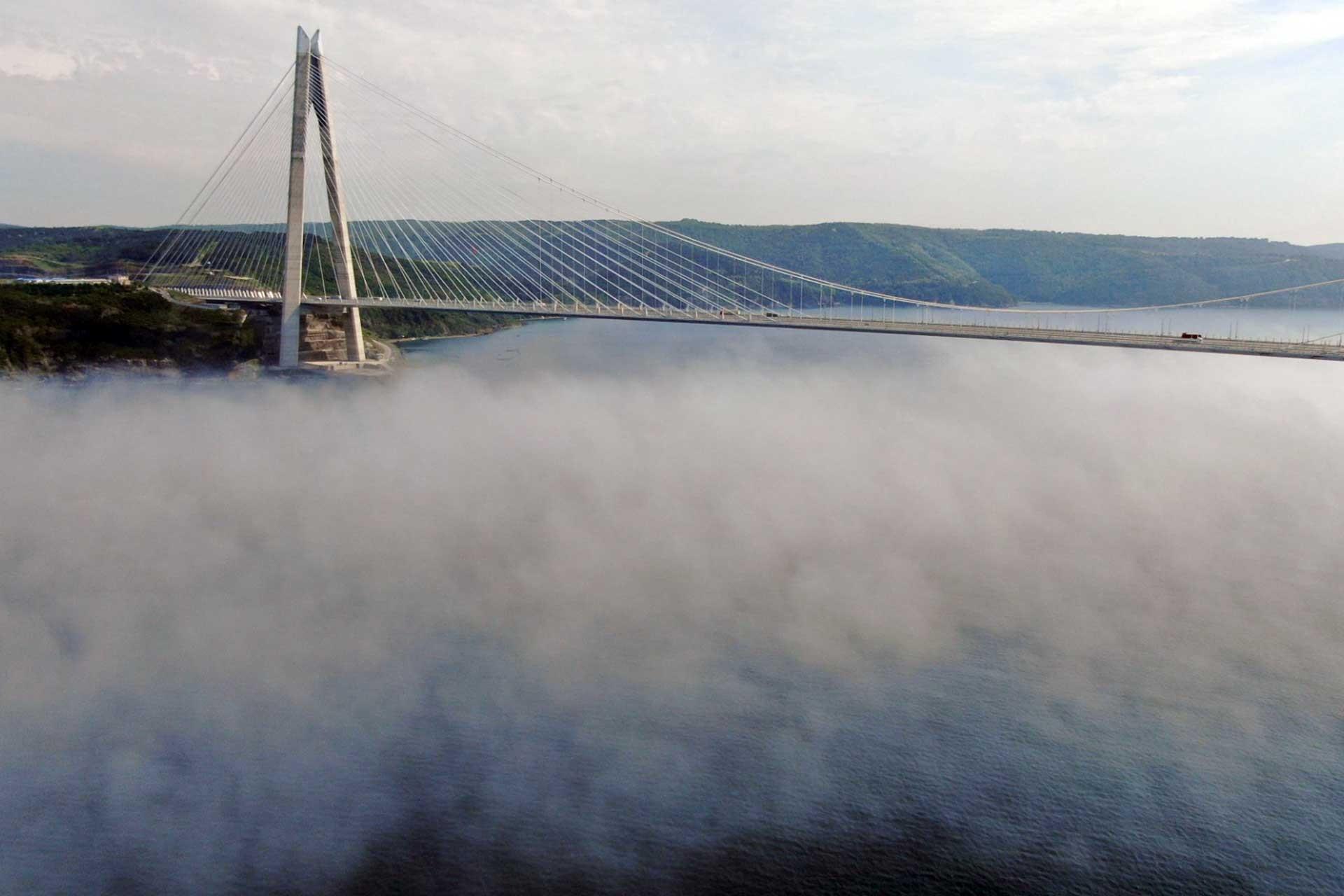 Yavuz Sultan Selim Köprüsü için verilen araç garantisinin 3'te 1'ine bile ulaşılamadı