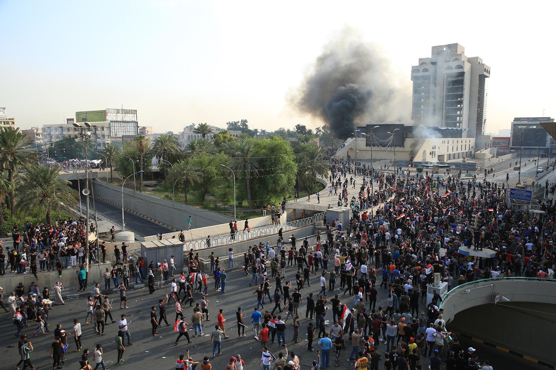 Irak'ta hükümet karşıtı eylemlere Erbain törenleri nedeniyle ara verildi