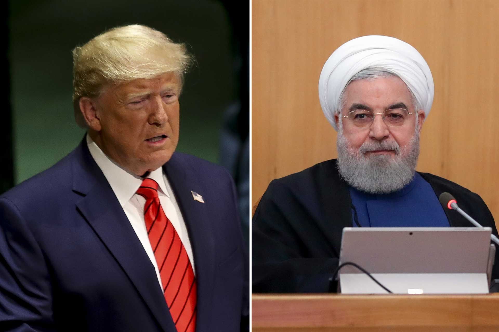 trump ve ruhani