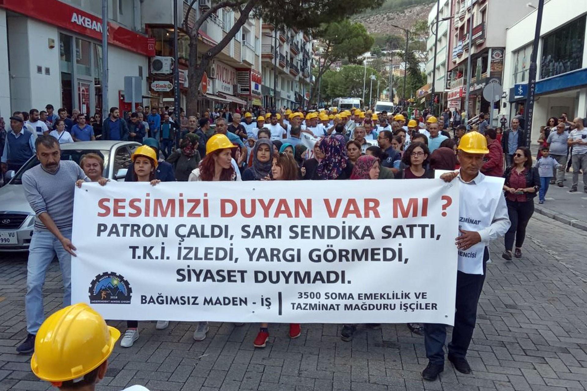 Somalı madencilerin Ankara'ya yürüyüşü başladı: Soygun ve nitelikli gasp var!