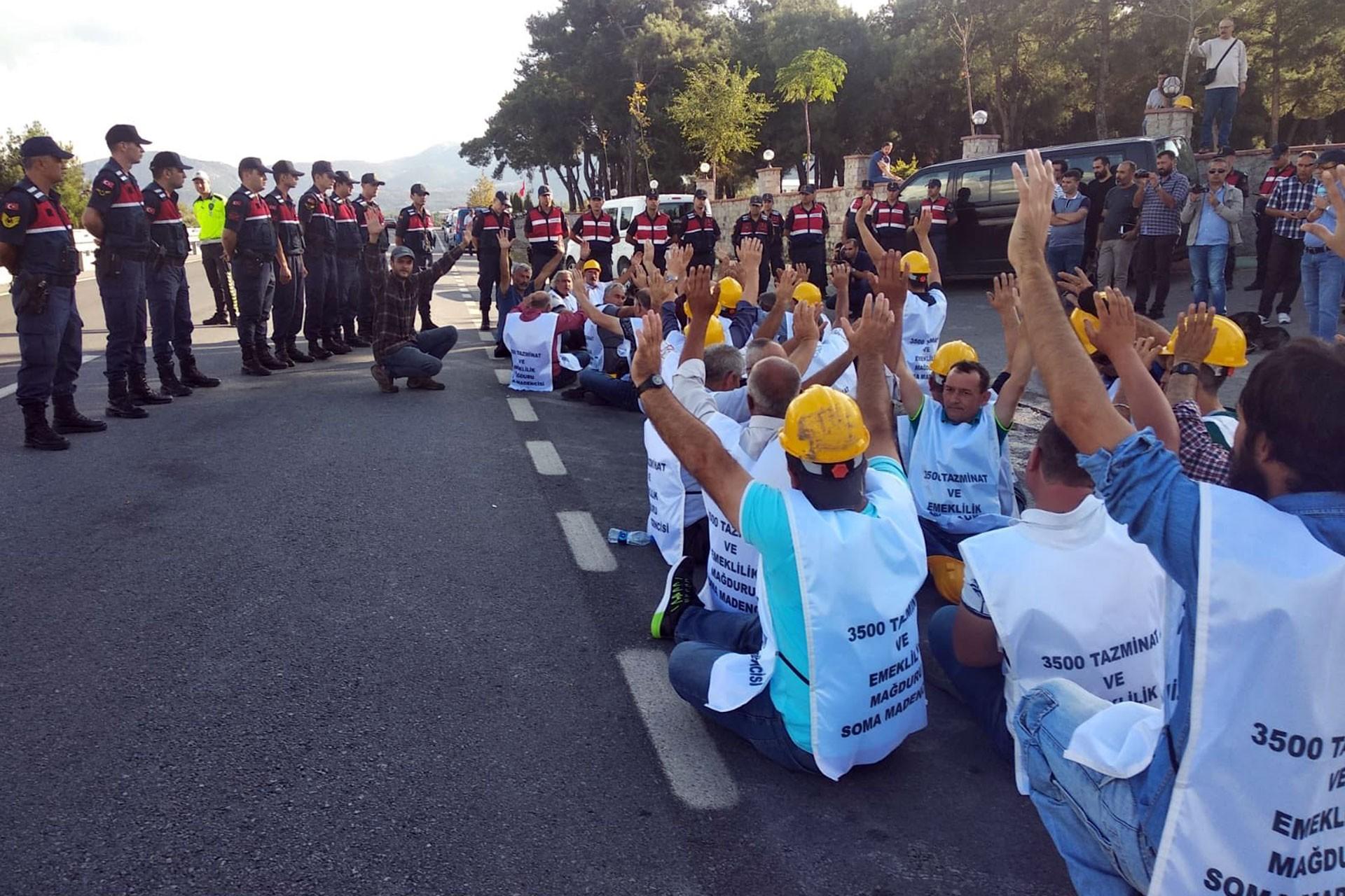 Eylemdeki 2 bin 200 maden işçinin talebi kabul edildi, 700 işçi somut çözüm bekliyor