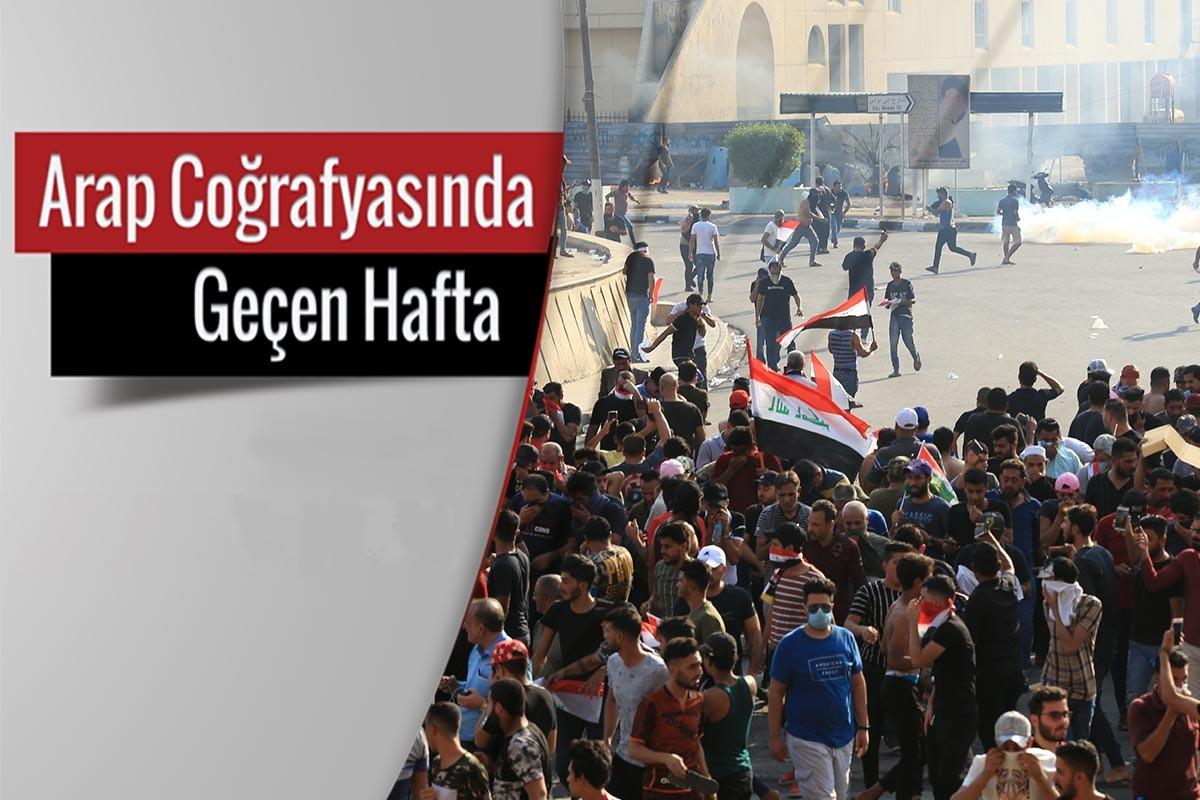 Iraklılar yoksulluğa ve yolsuzluğa karşı ayakta