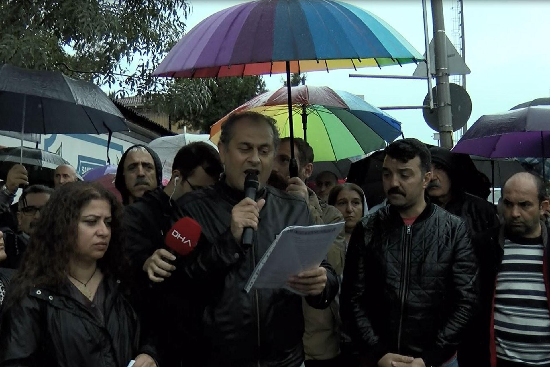 Eğitim Sen İstanbul 2 Nolu Şube Başkanı Kazım Yılancı