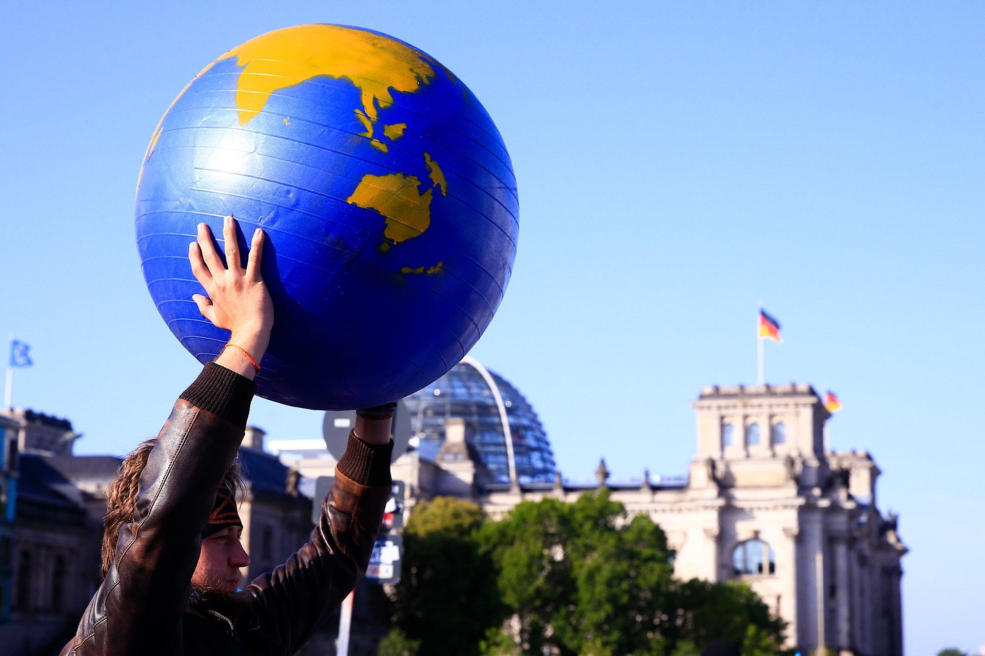 Almanya'da yaşam alanı savucunularının iklim eylemi 3. gününde