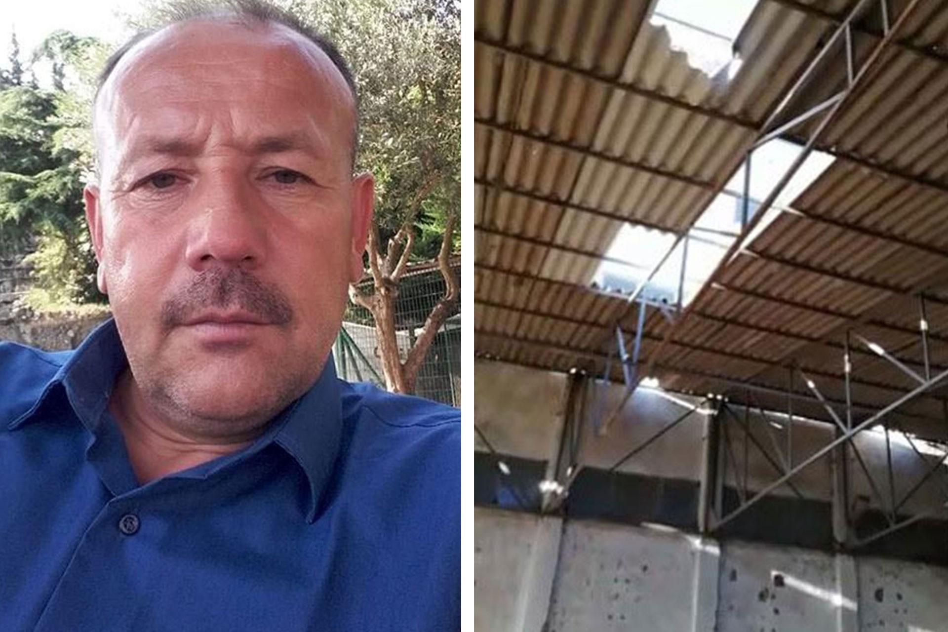 Sakarya'da iş cinayeti: İşyerinin çatısını tamir etmek isteyen bekçi düşerek öldü
