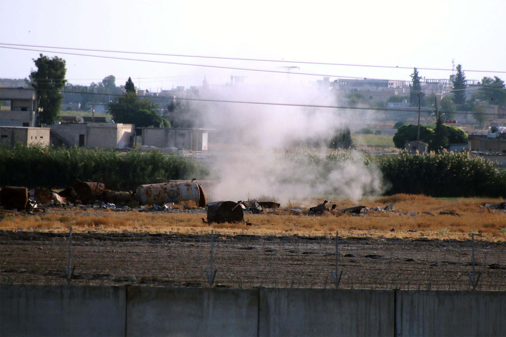 Fırat'ın doğusuna operasyonda 2. gün: 6 sivil ve 1 asker yaşamını yitirdi