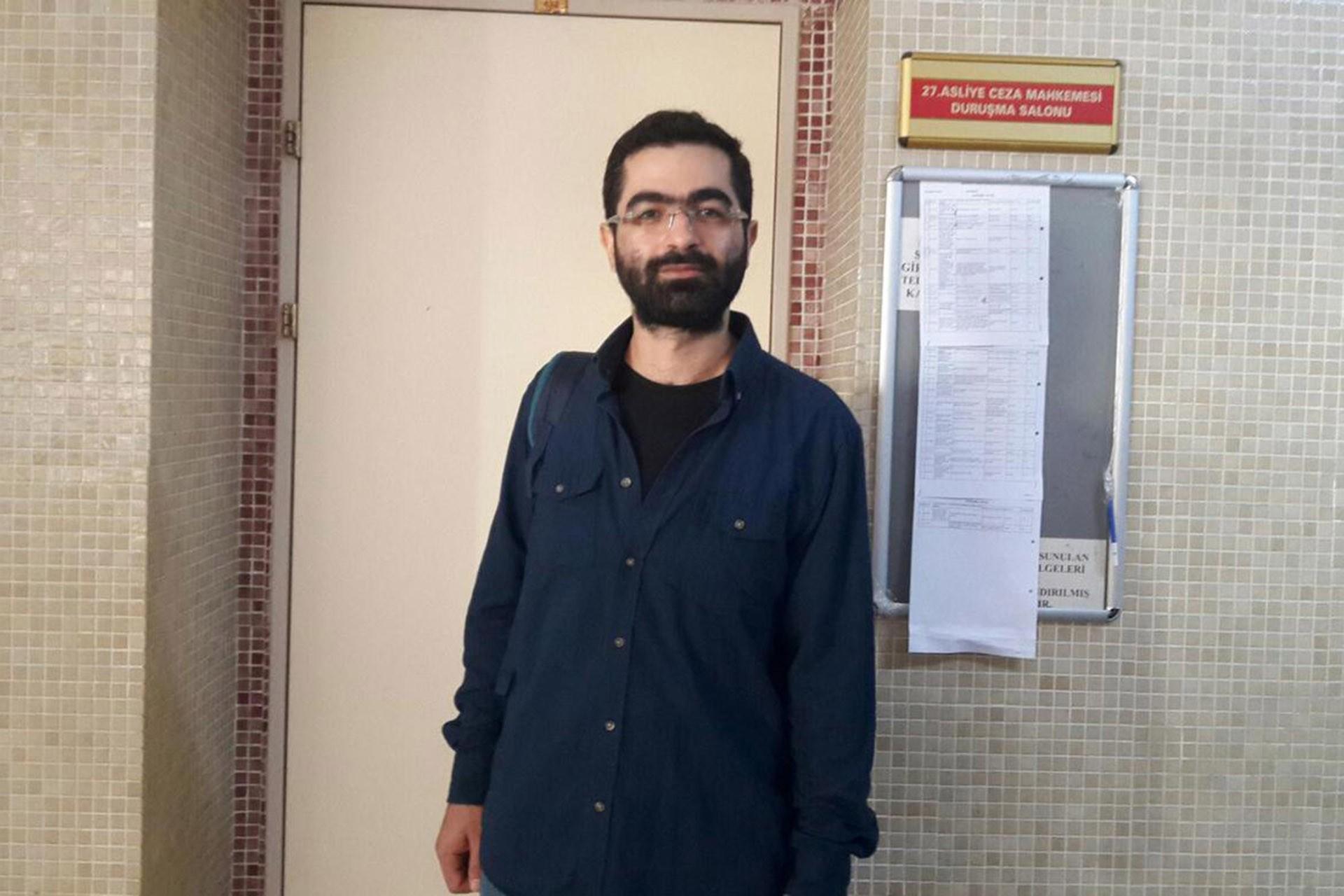 Eski yazı işleri müdürümüz Cem Şimşek'in Cumhurbaşkanına hakaret davası ertelendi