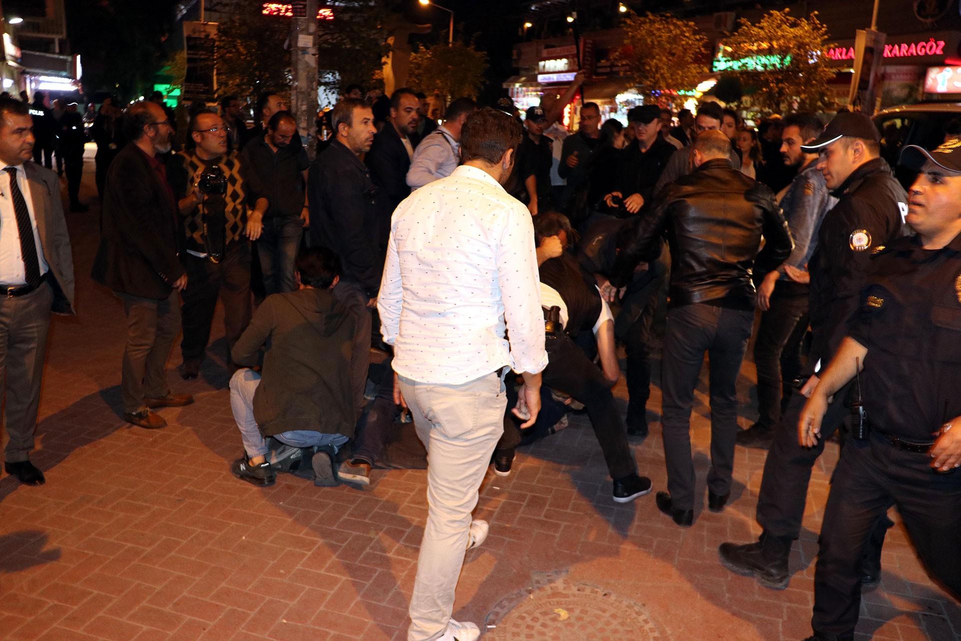 Ankara'da operasyon protestosunda gözaltına alınanlar serbest bırakıldı