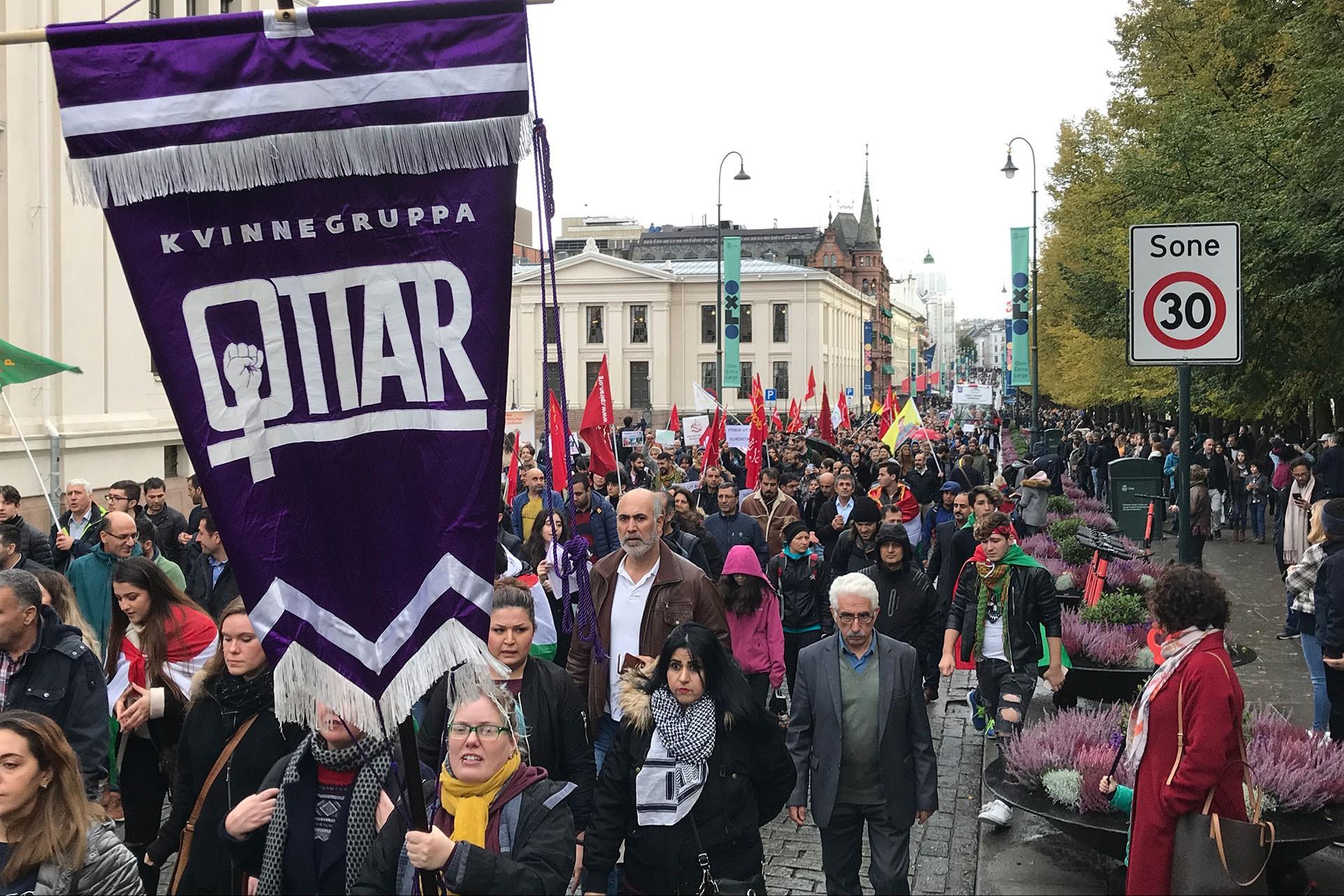Türkiye'nin Fırat'ın doğusuna düzenlediği operasyon çeşitli ülkelerde protesto edildi