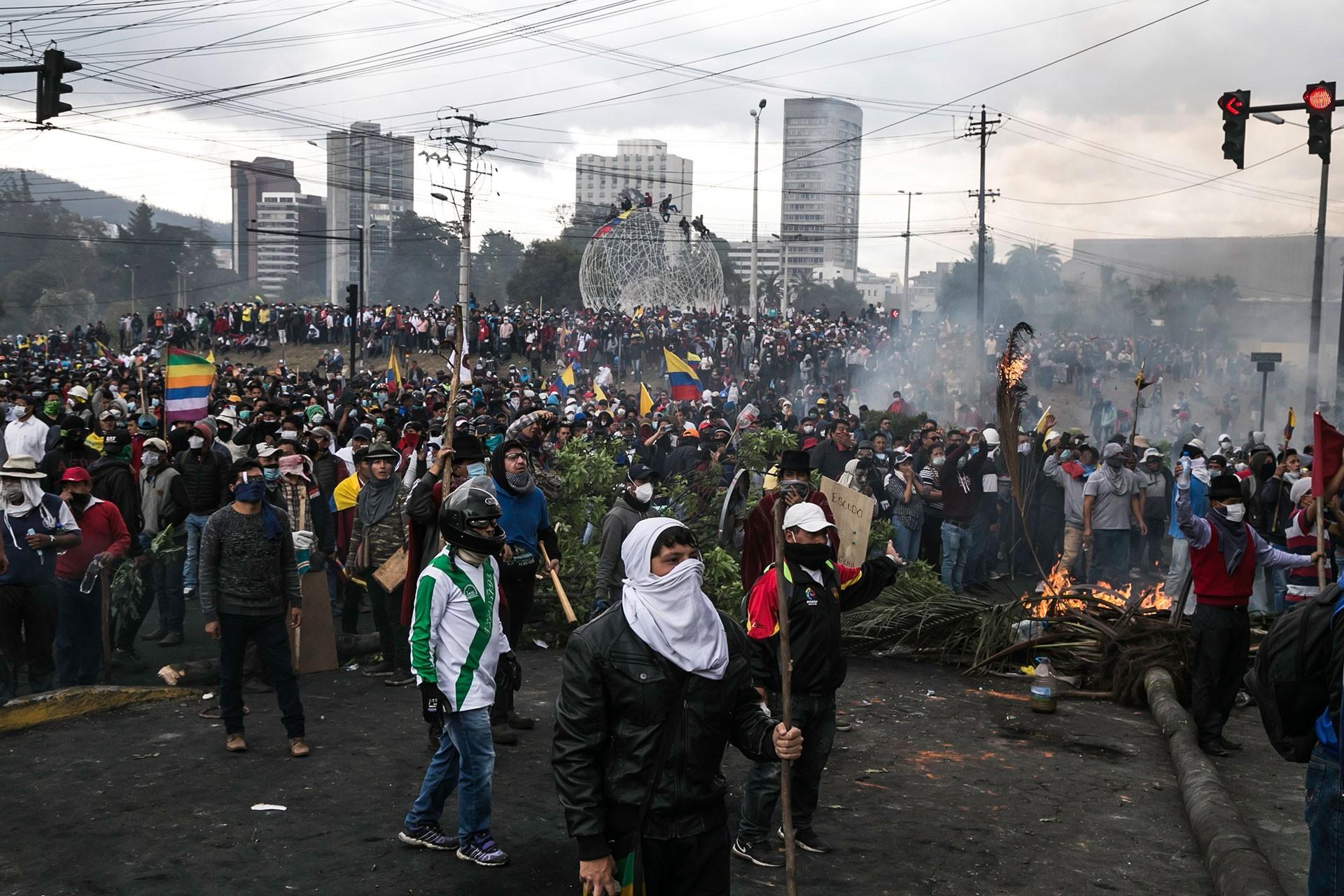 Ekvador'da devlet şiddeti artıyor, halk sokaklardan çekilmiyor