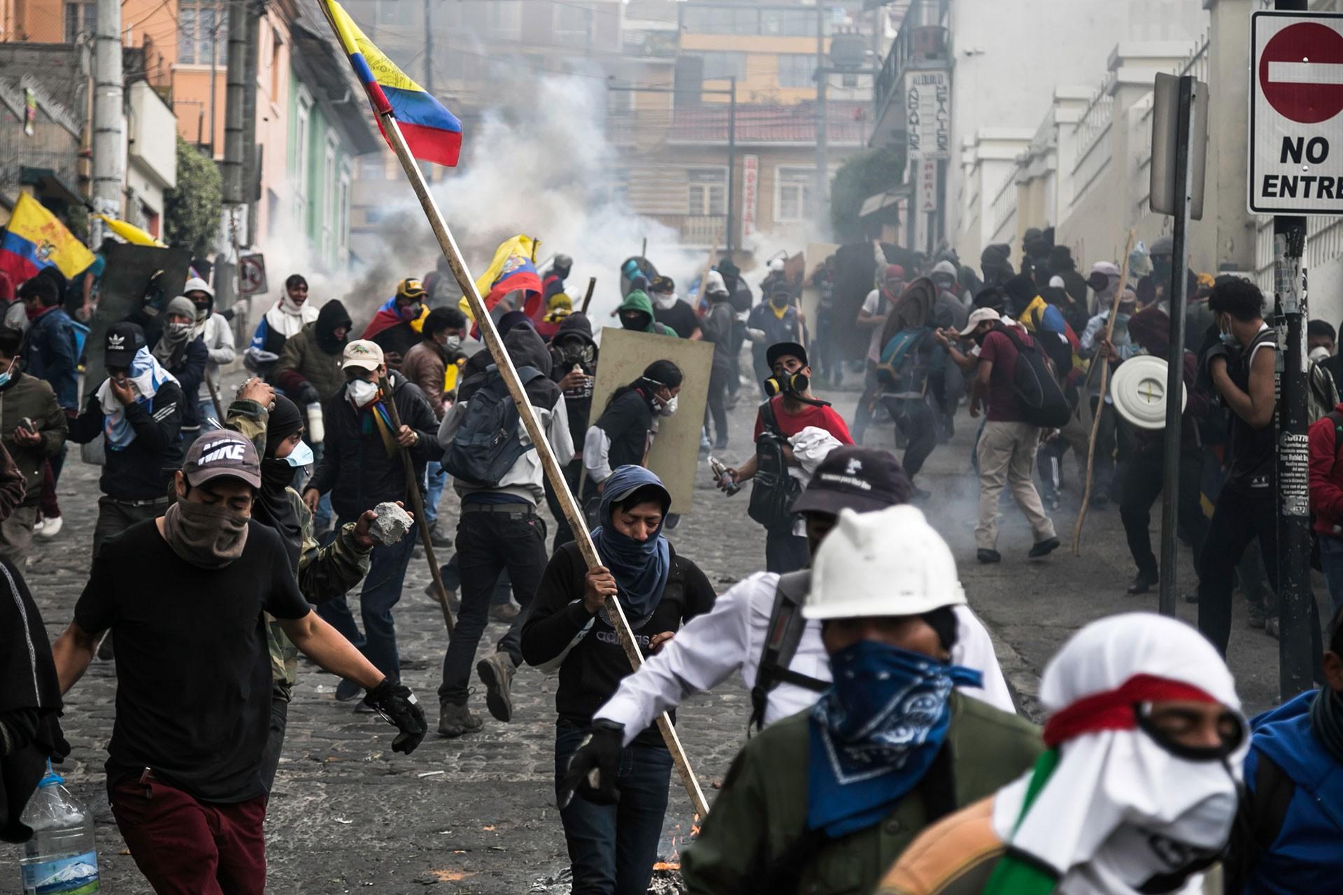 ekvador'da gösteriler sürüyor