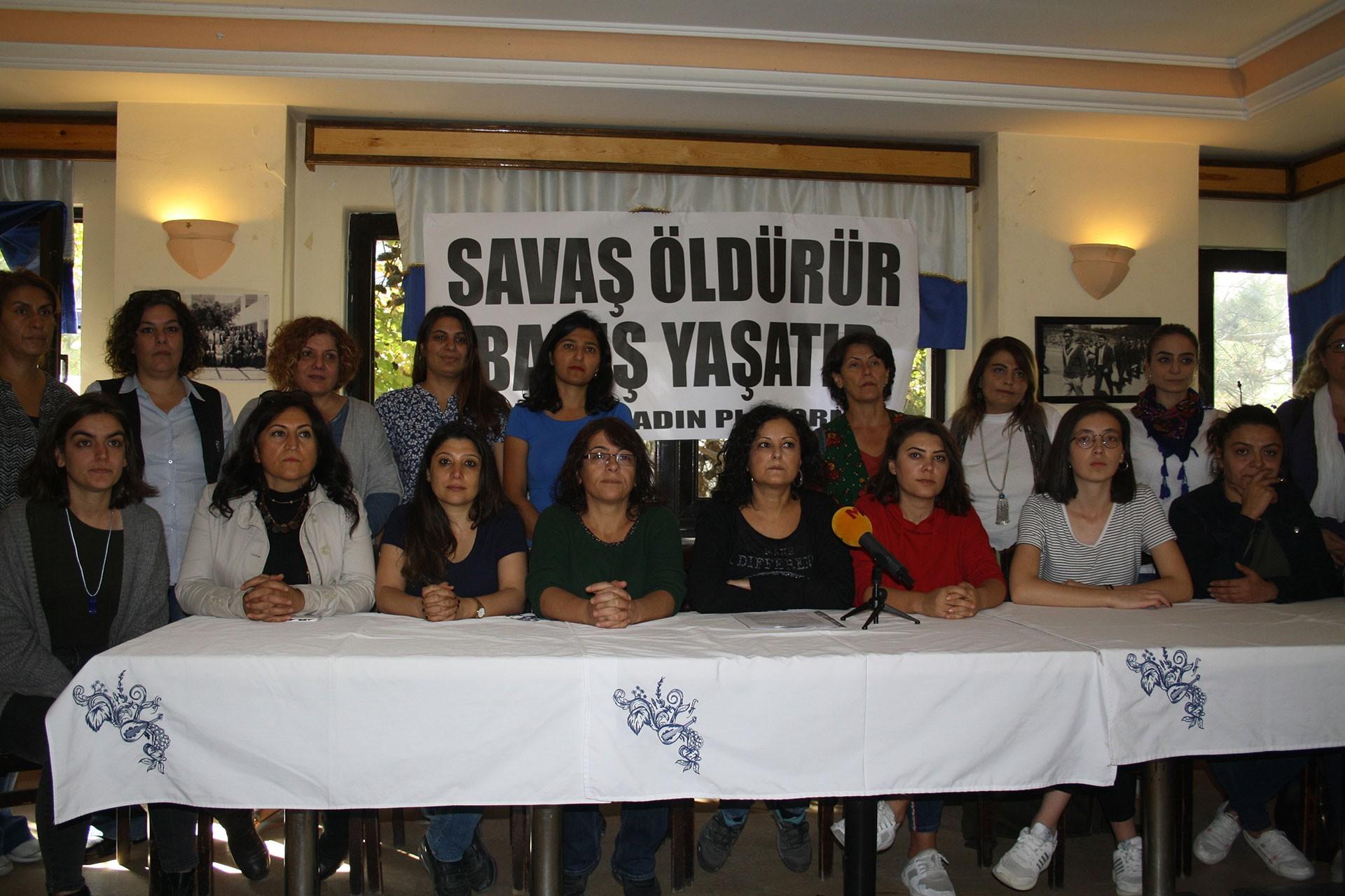 Ankara'da kadınlardan barış çağrısı: Ülkenin ihtiyacı toplumsal barıştır