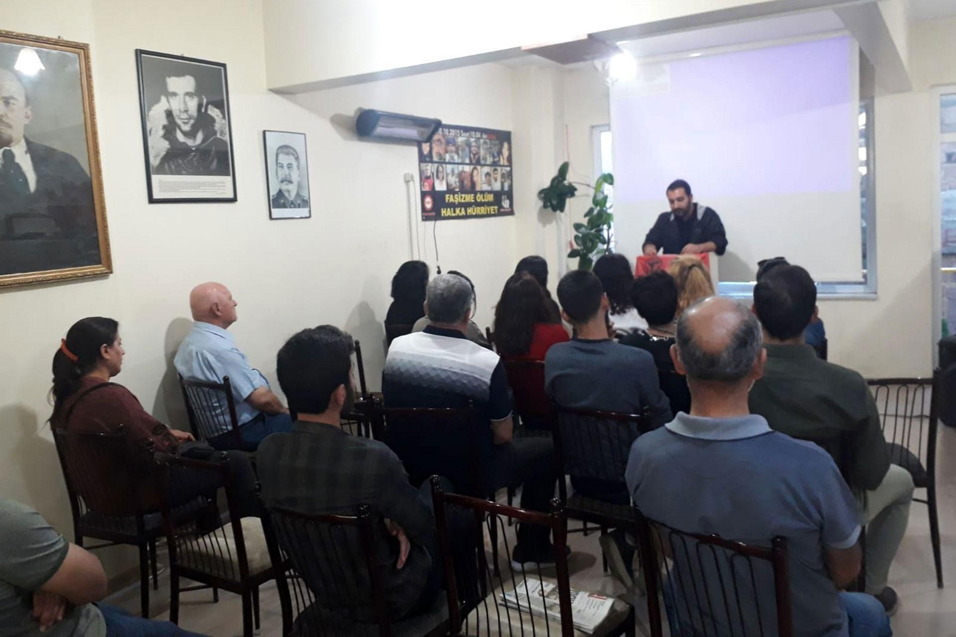 Malatya Emek Gençliği, 10 Ekim Katliamı'nda yaşamını yitirenleri andı