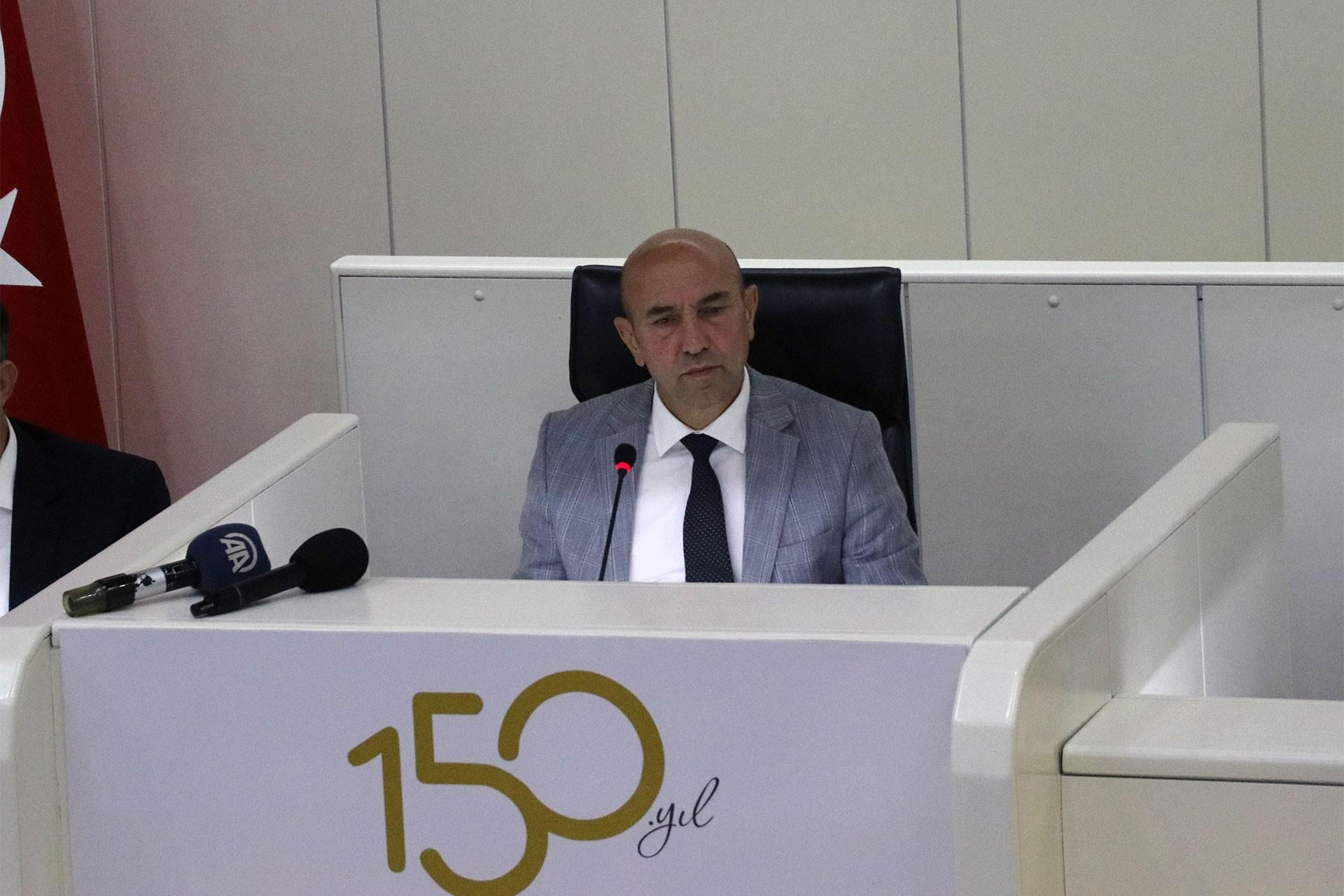 İzmir Büyükşehir Belediye Başkanı Tunç Soyer: En kısa sürede barış diliyoruz