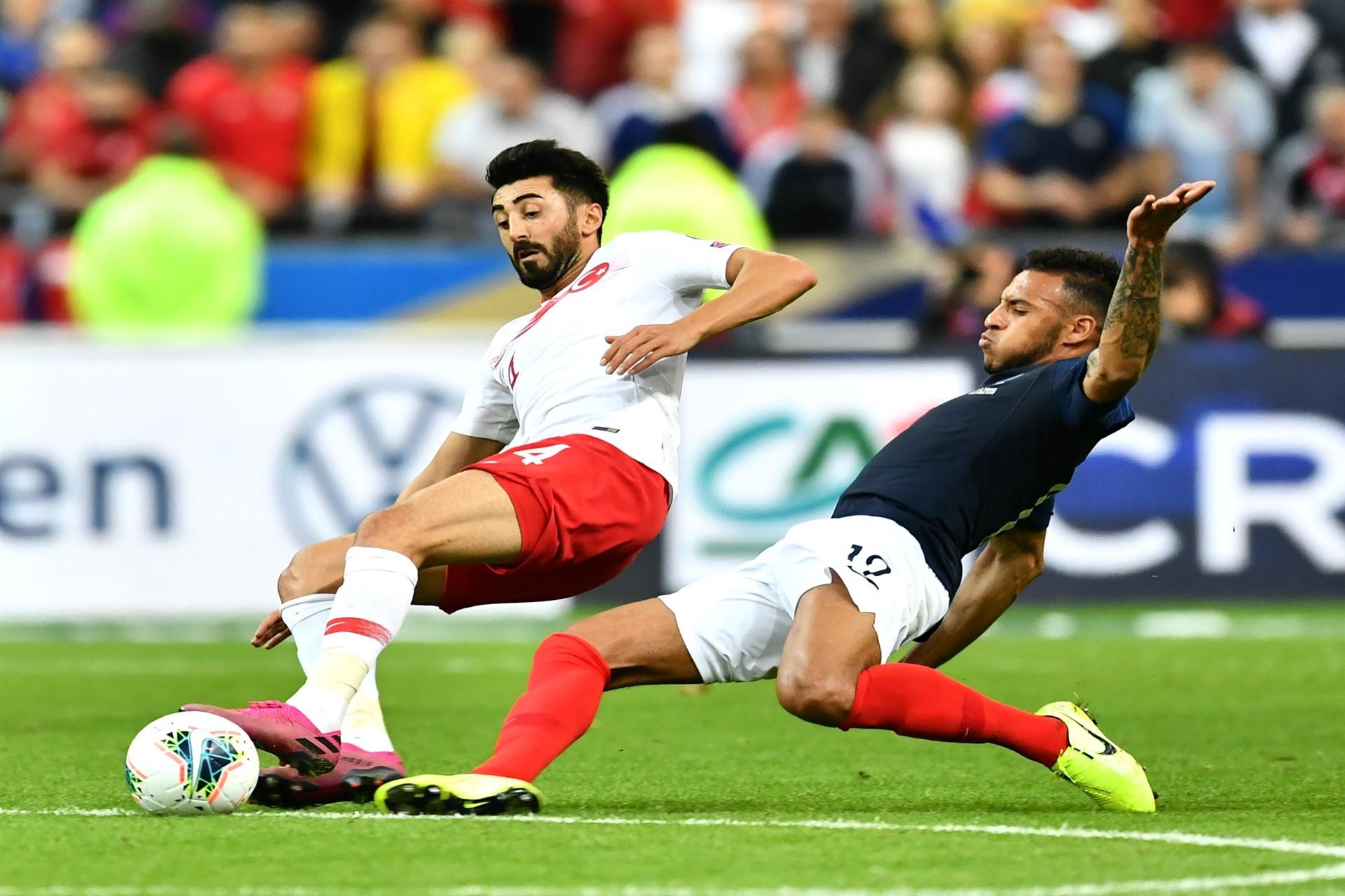Türkiye, Fransa deplasmanında 1-1 berabere kaldı