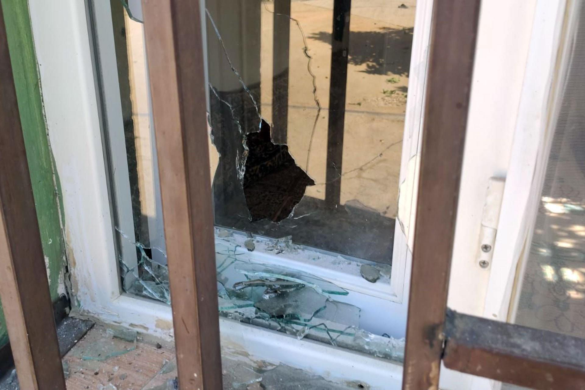 saldırıda evlerde de hasar oluştu