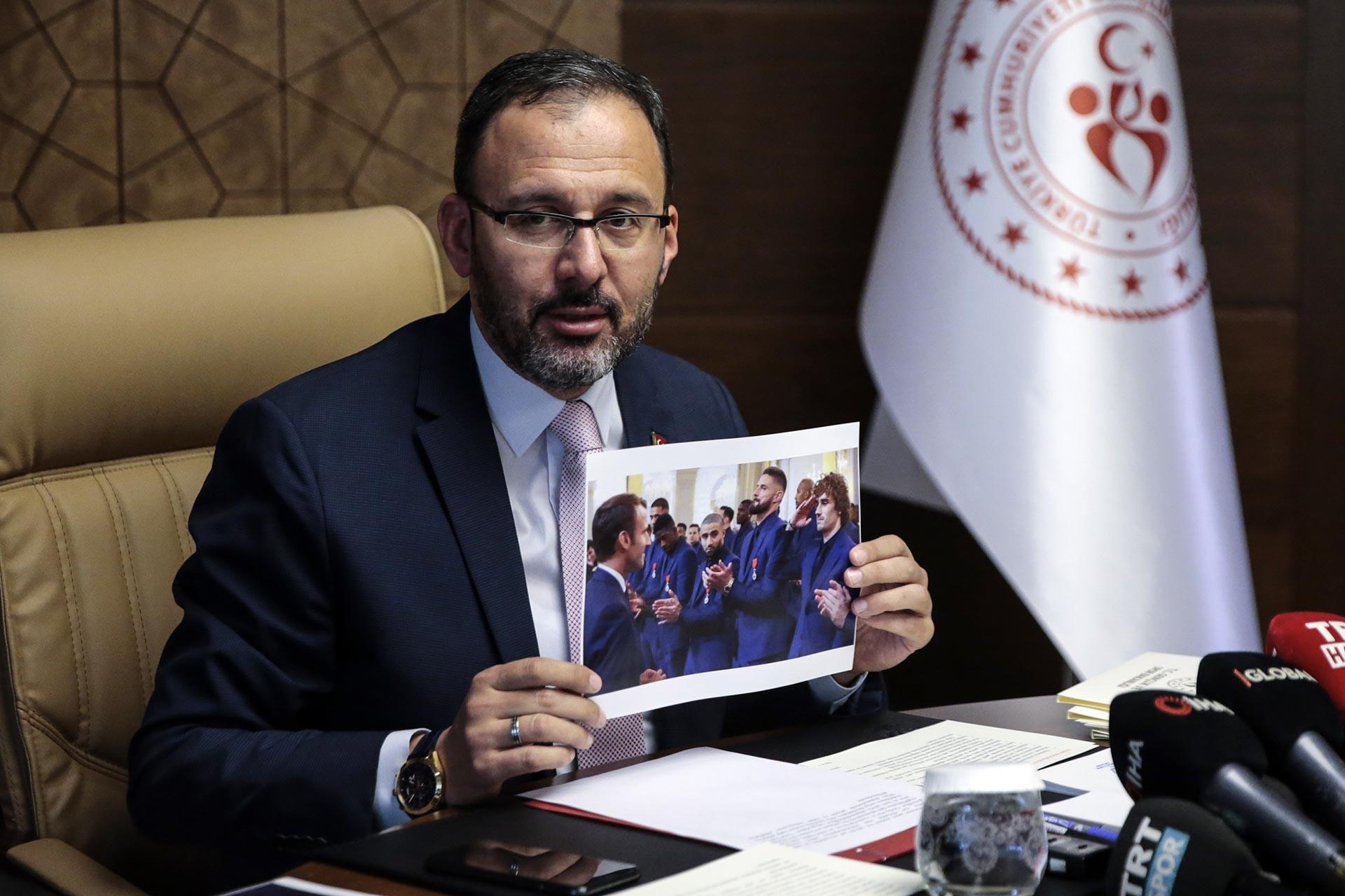 Kasapoğlu, Griezzman'ın fotoğrafını göstererek açıklama yaptı