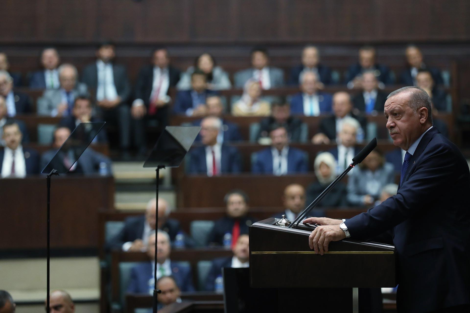 Erdoğan'dan operasyonu bitirme sinyali: Güvenli bölgeden çıksınlar, harekat sona erer