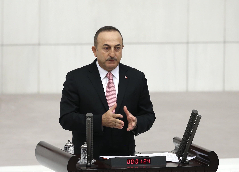 Dışişleri Bakanı Çavuşoğlu, Meclis'te 'Suriye operasyonu' hakkında bilgi verdi