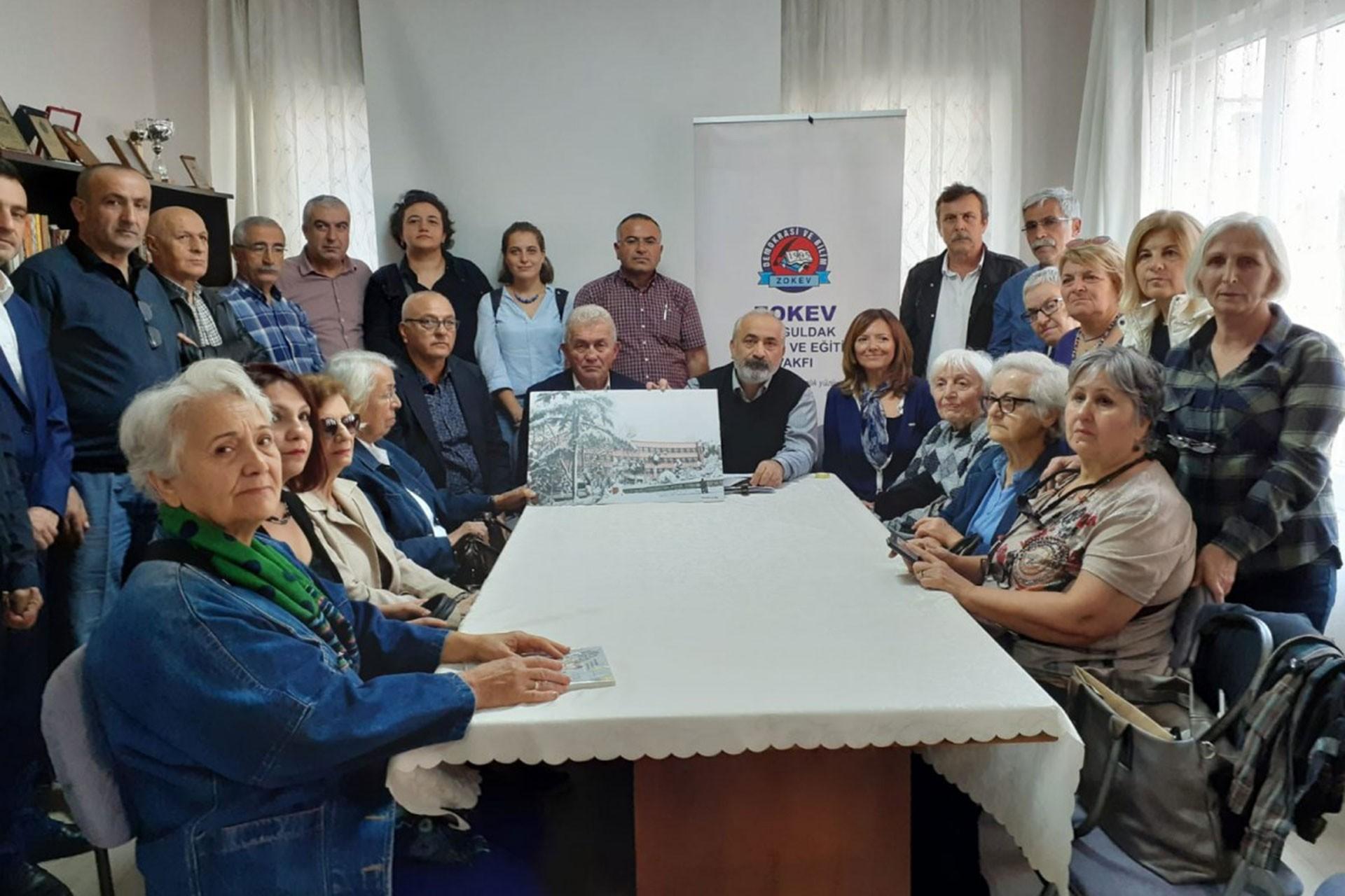Zonguldak Kız Meslek Lisesinin yıkılıp yerine otopark yapılmak istenmesine tepki