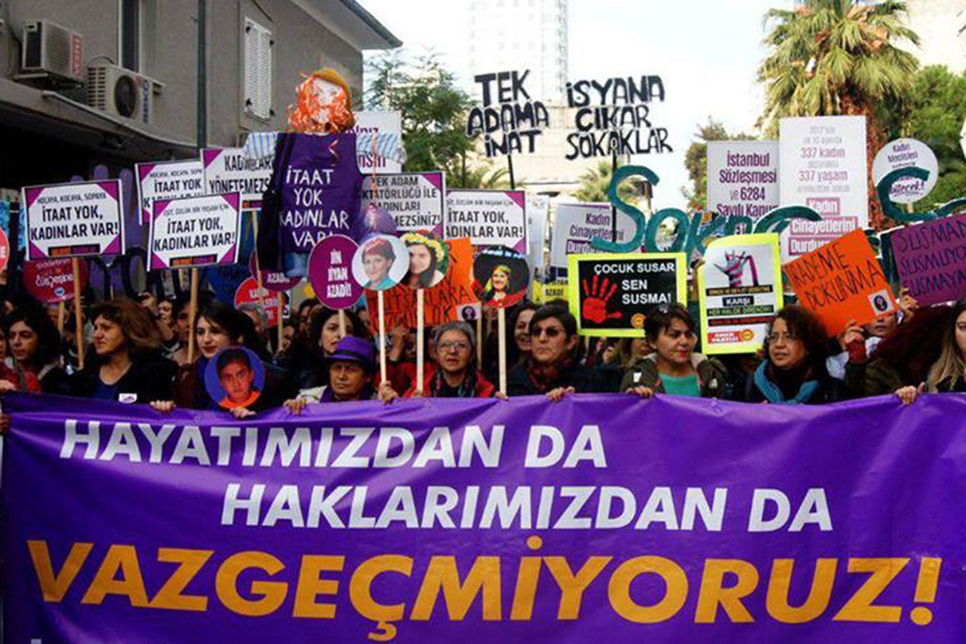 Kadın örgütleri: Yargı reformu bahanesiyle haklarımızın gasbedilmesine izin vermeyiz