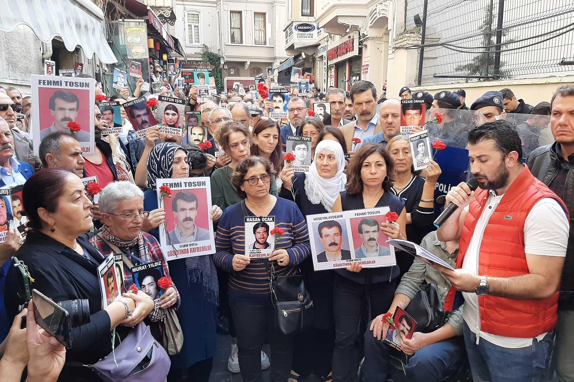 Cumartesi Anneleri Tosun ve Aydemir'in akıbeti sordu: Hakikati istiyoruz