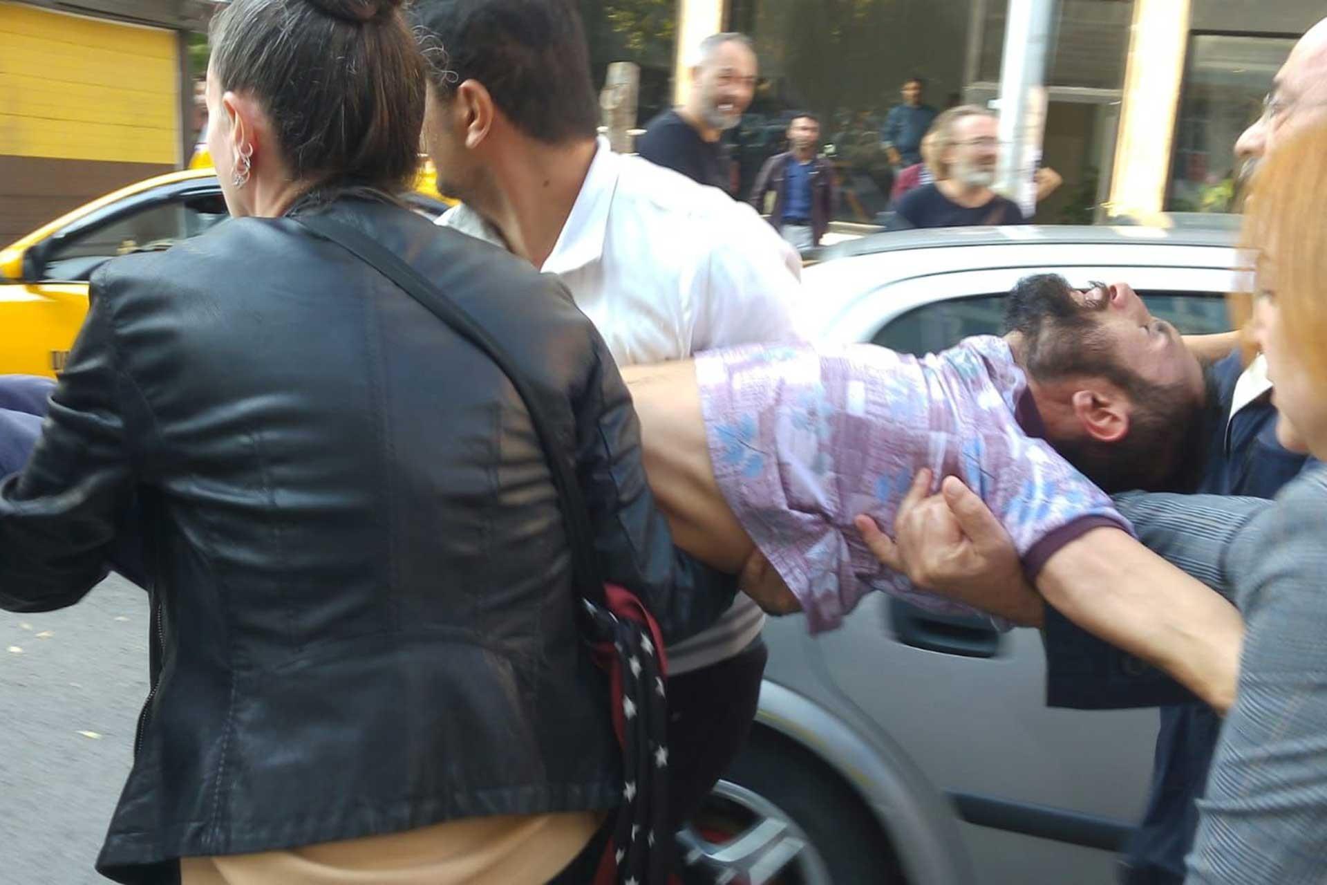 HDP Eş Genel Başkanı Temelli'nin de olduğu HDP'lilere polis müdahalesi: 3 yaralı