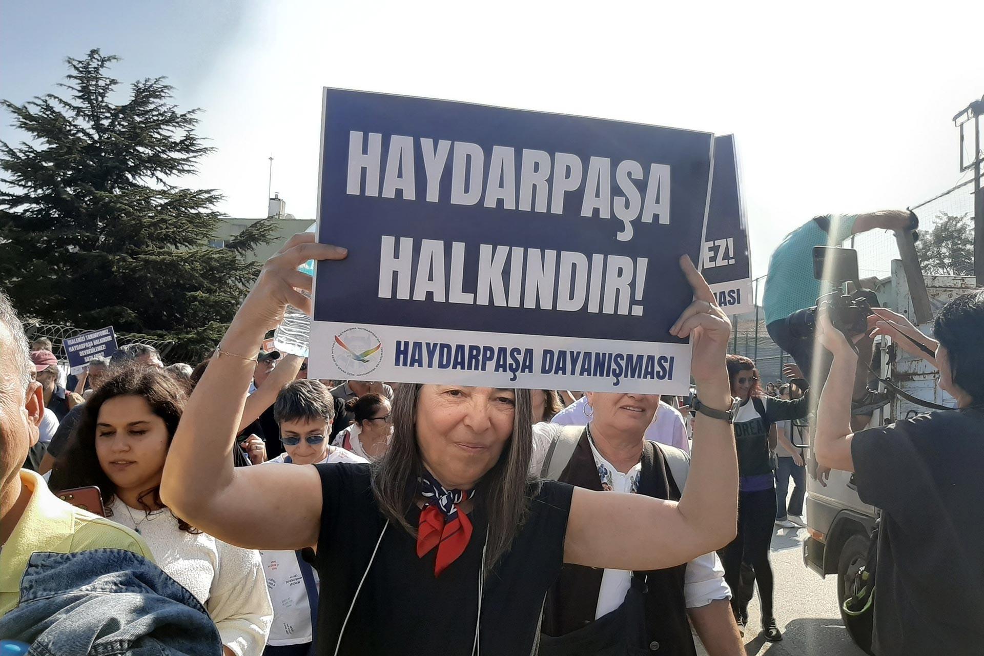 Haydarpaşa ve Sirkeci garlarının hukuksuz ihaleyle gasbına tepki: Buralar halkındır!