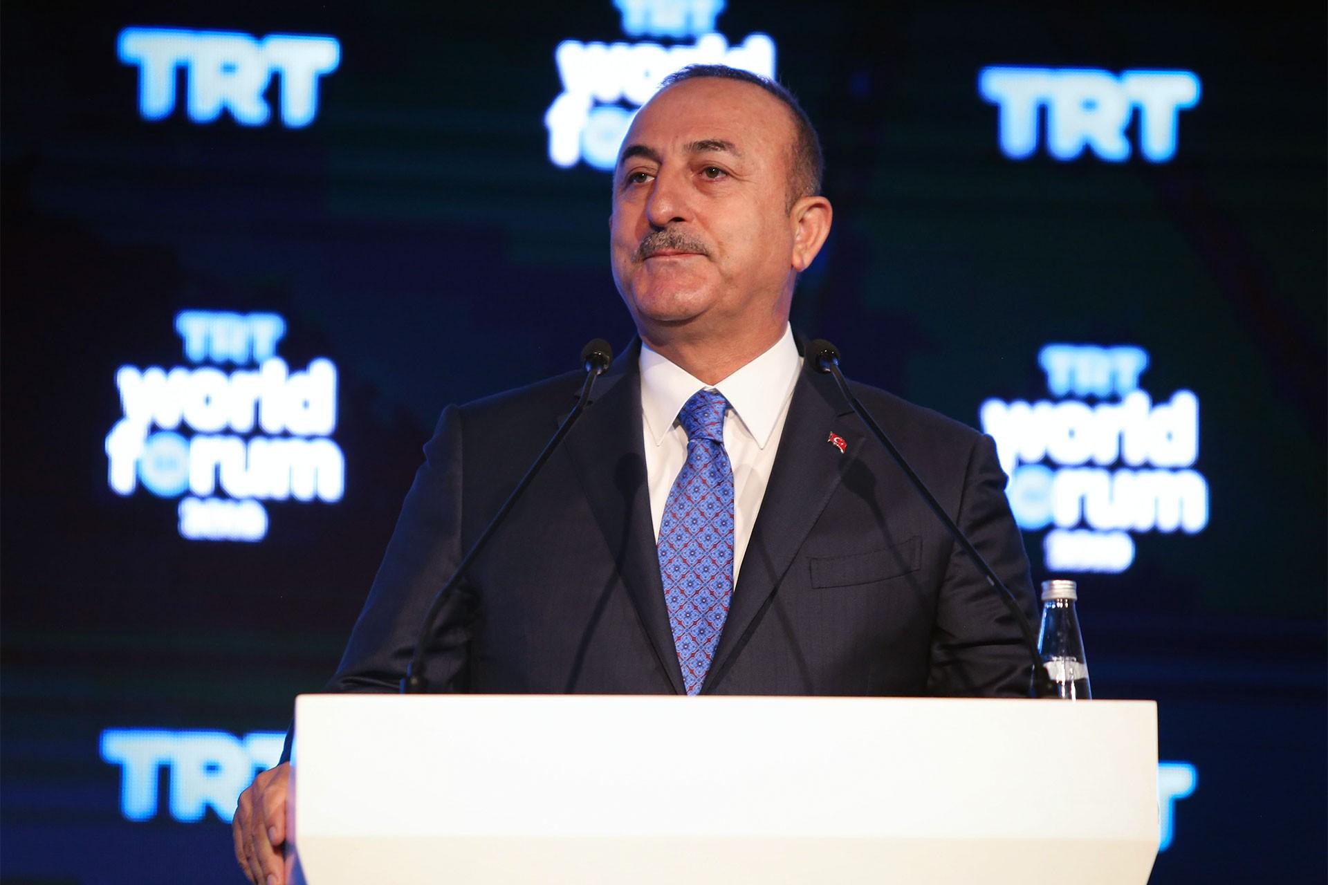 """Dışişleri Bakanı Çavuşoğlu """"Askeri çözüm yok"""" dedi, operasyonu gerekçelendirdi"""