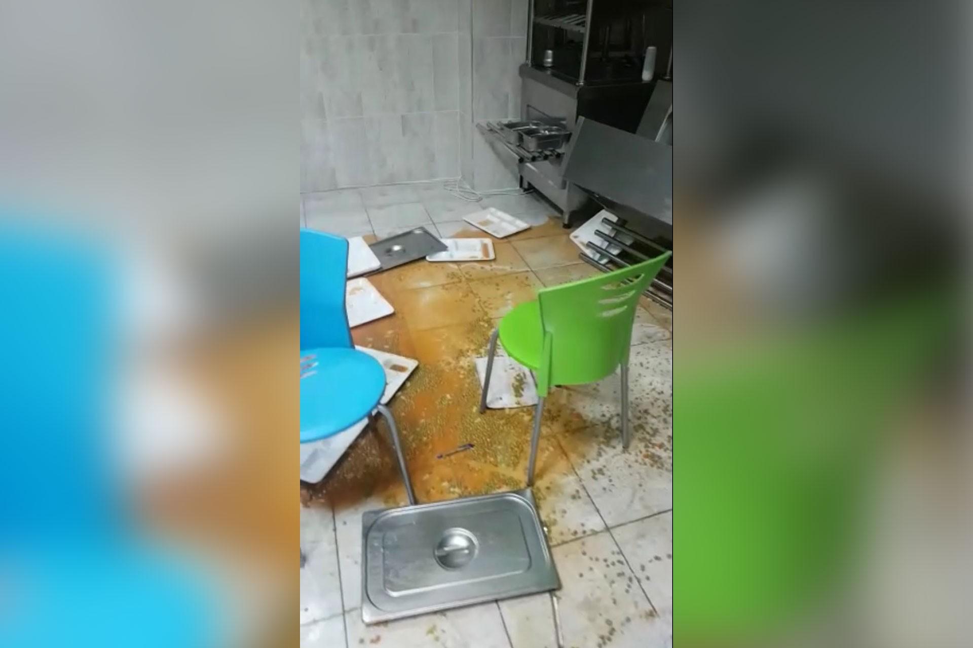 Eryaman'da ilkokul öğrencisi çorba kazanının devrilmesi sonucu ağır yaralandı