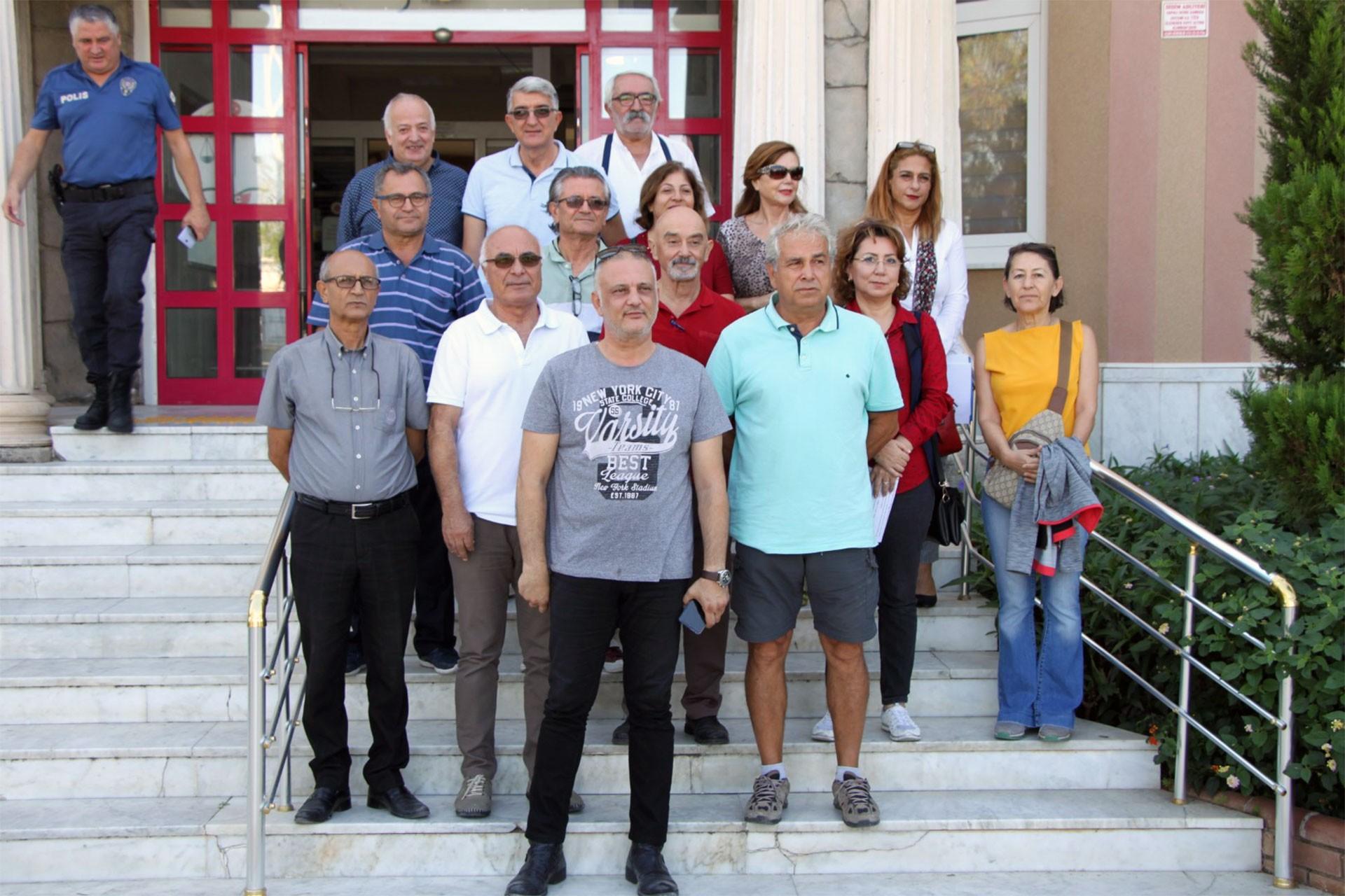 Didim'de kamu arazilerinin hukuka aykırı şekilde imara açılması yargıya taşındı