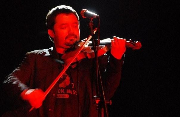 grubu Inti Illimani'nin üyesi, Müzisyen Daniel Cantillana  Fotoğraf: Elif Görgü/Evrensel