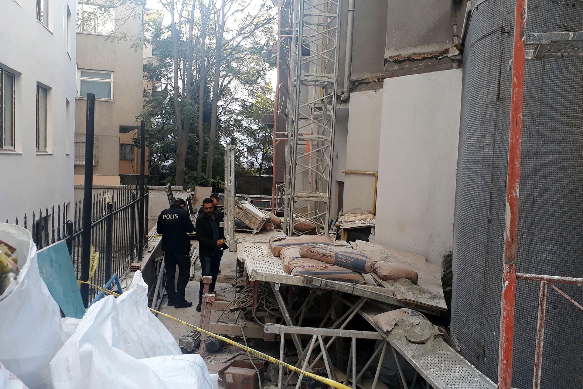 Ankara'da iş kazası: Yük asansörü düştü, 3 işçi yaralandı