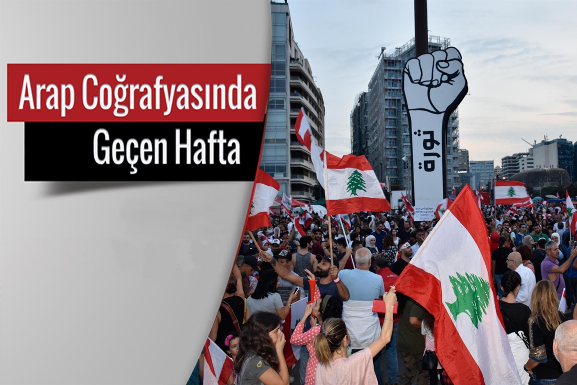 Lübnan: Bu düzen değişene kadar!