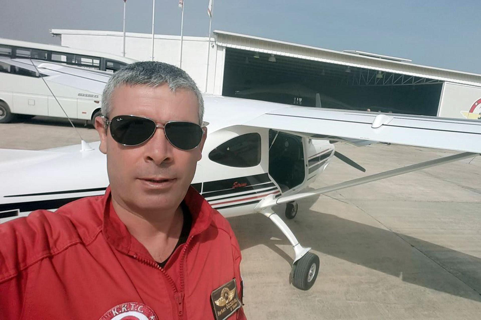KKTC'de eğitim uçağı düştü, 2 kişi hayatını kaybetti