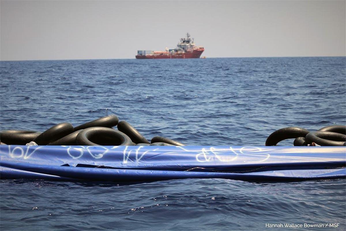 İtalya'dan mültecileri kurtaran Ocean Viking gemisine liman izin çıktı