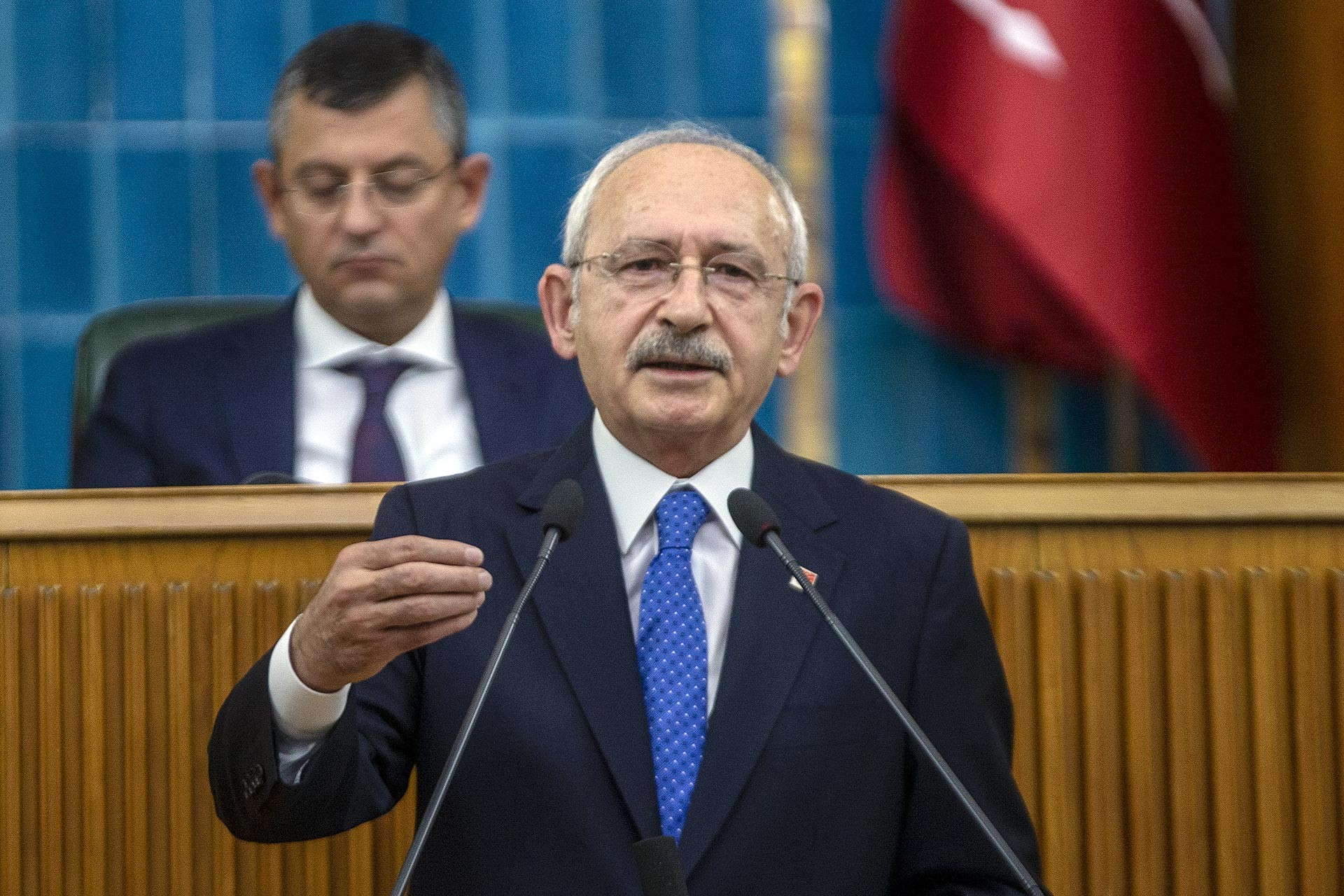 CHP Genel Başkanı Kemal Kılıçdaroğlu, partisinin grup toplantısında konuştu