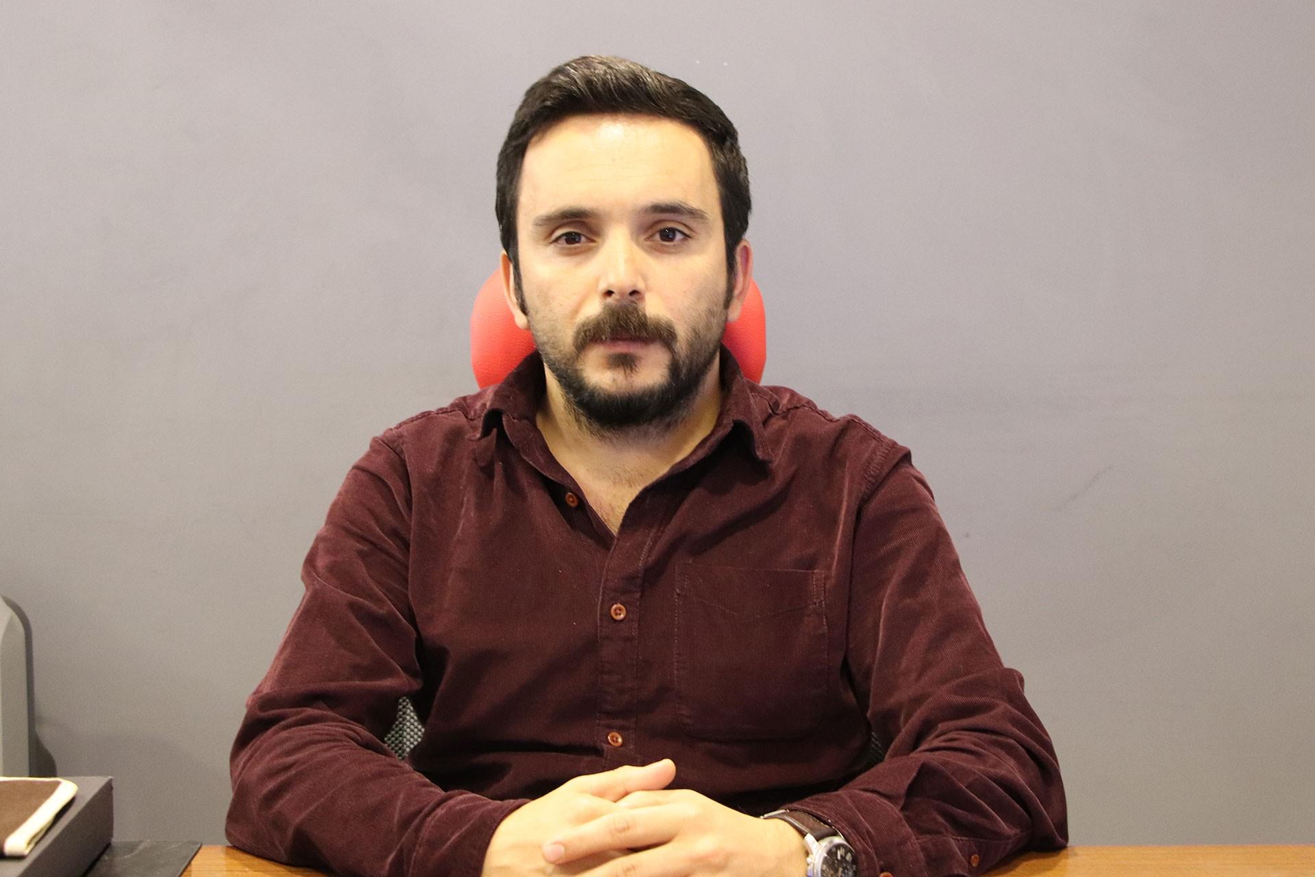 TMMOB Mimarlar Odası Diyarbakır Şubesi Eş Başkanı Şerefhan Aydın