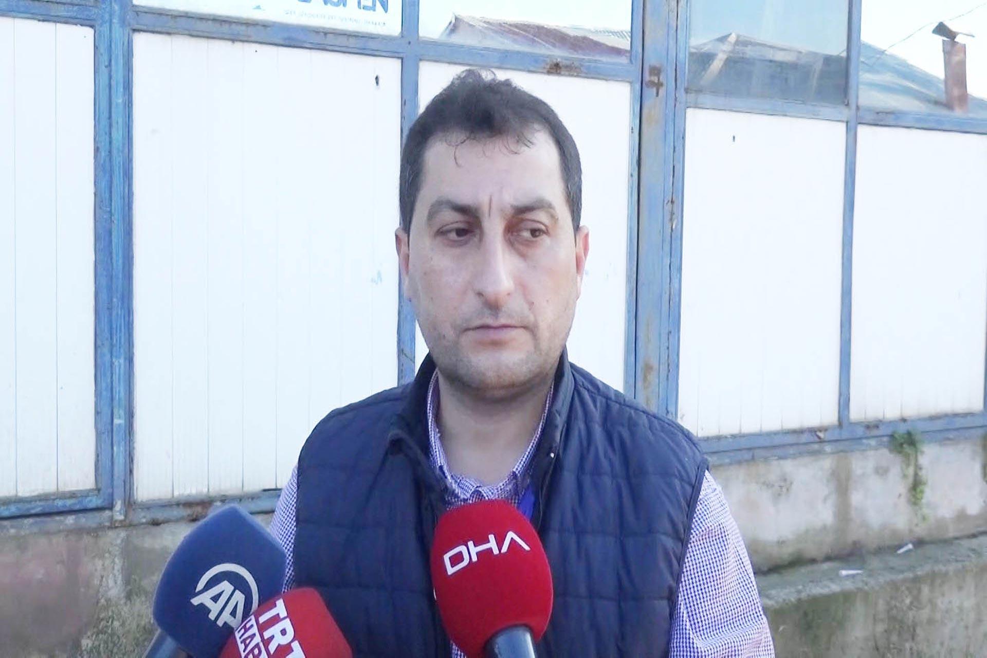 Rabia Naz'ın babası Şaban Vatan, Meclis Komisyonu ile görüşmesinin ardından basına açıklama yaparken