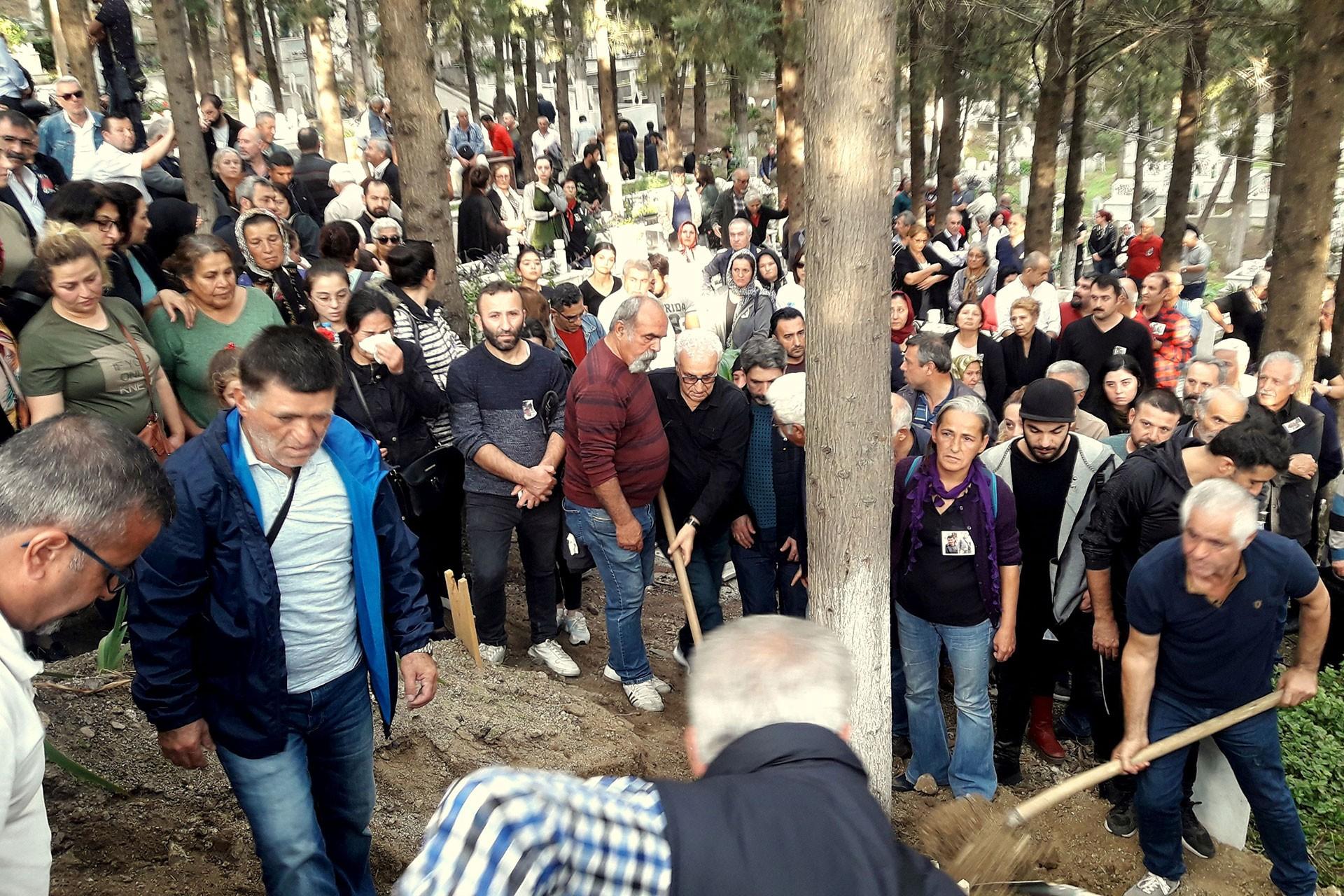 Fazlı Aksoy'un cenaze töreni