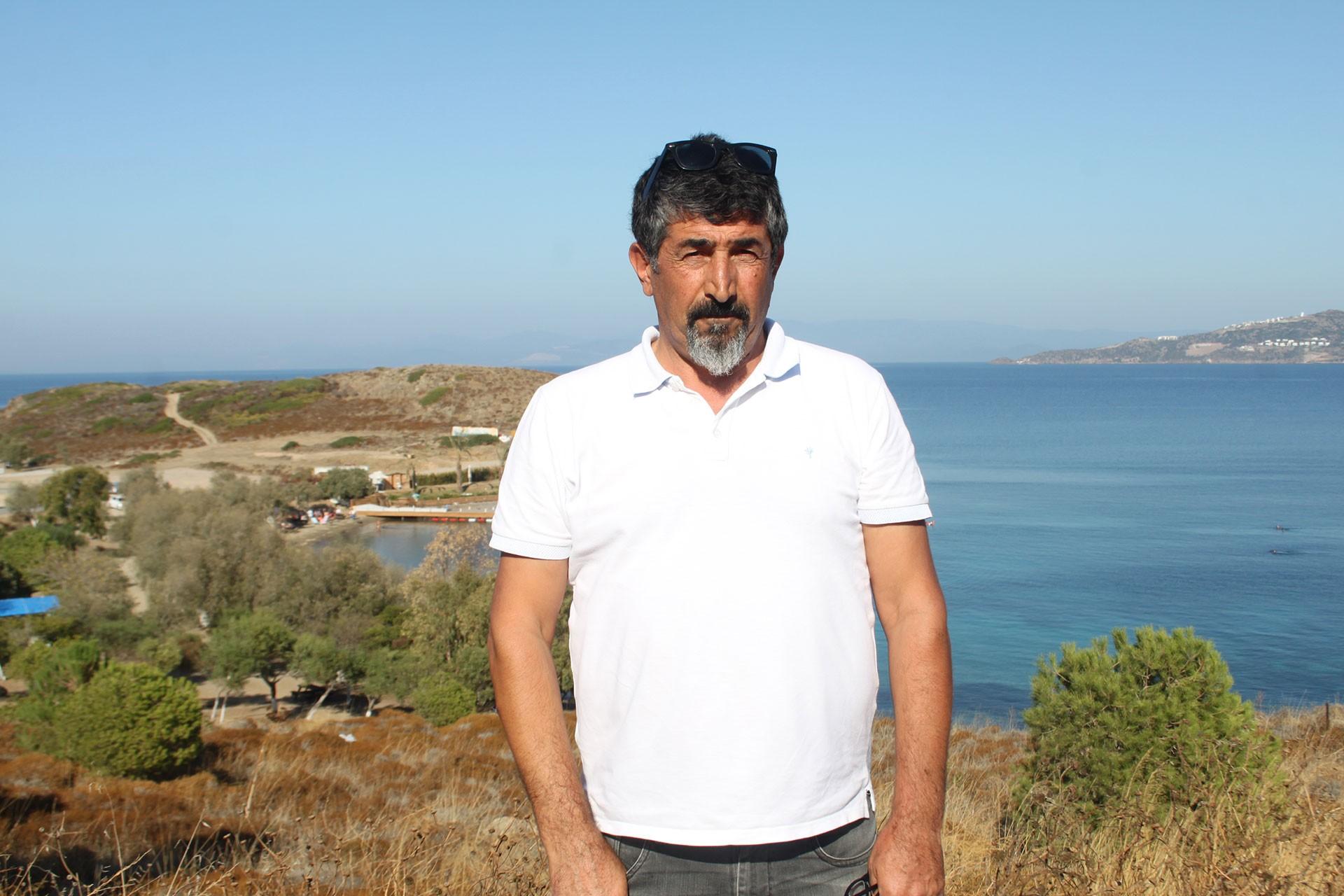 Ekolojist Mir Bahattin Demir, Küdür Yarımadası'nda yaşanan sorunu anlattı
