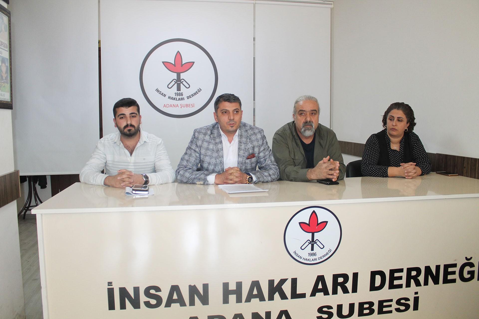 İHD Adana Şubesi